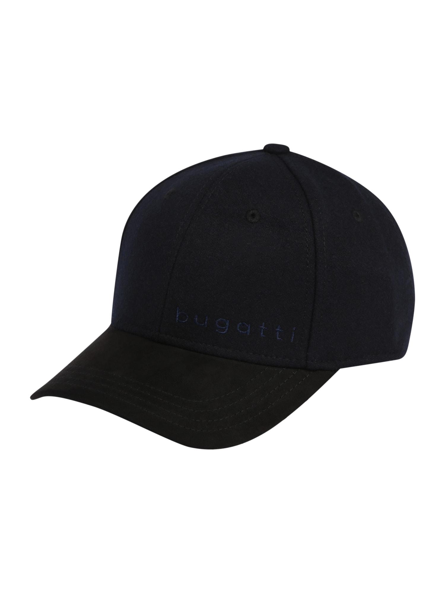 bugatti Kepurė tamsiai mėlyna / juoda / tamsiai mėlyna
