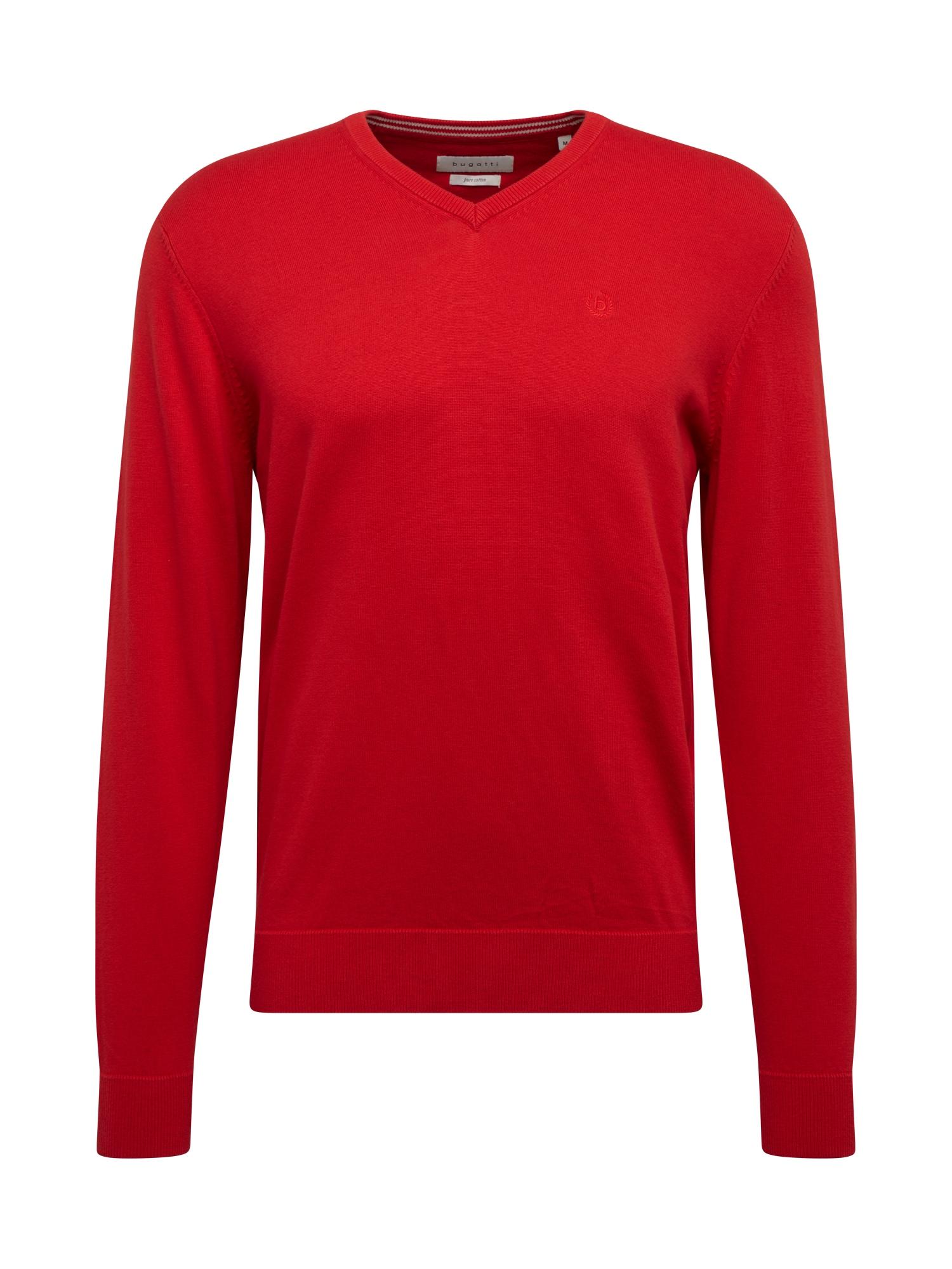 bugatti Megztinis šviesiai raudona