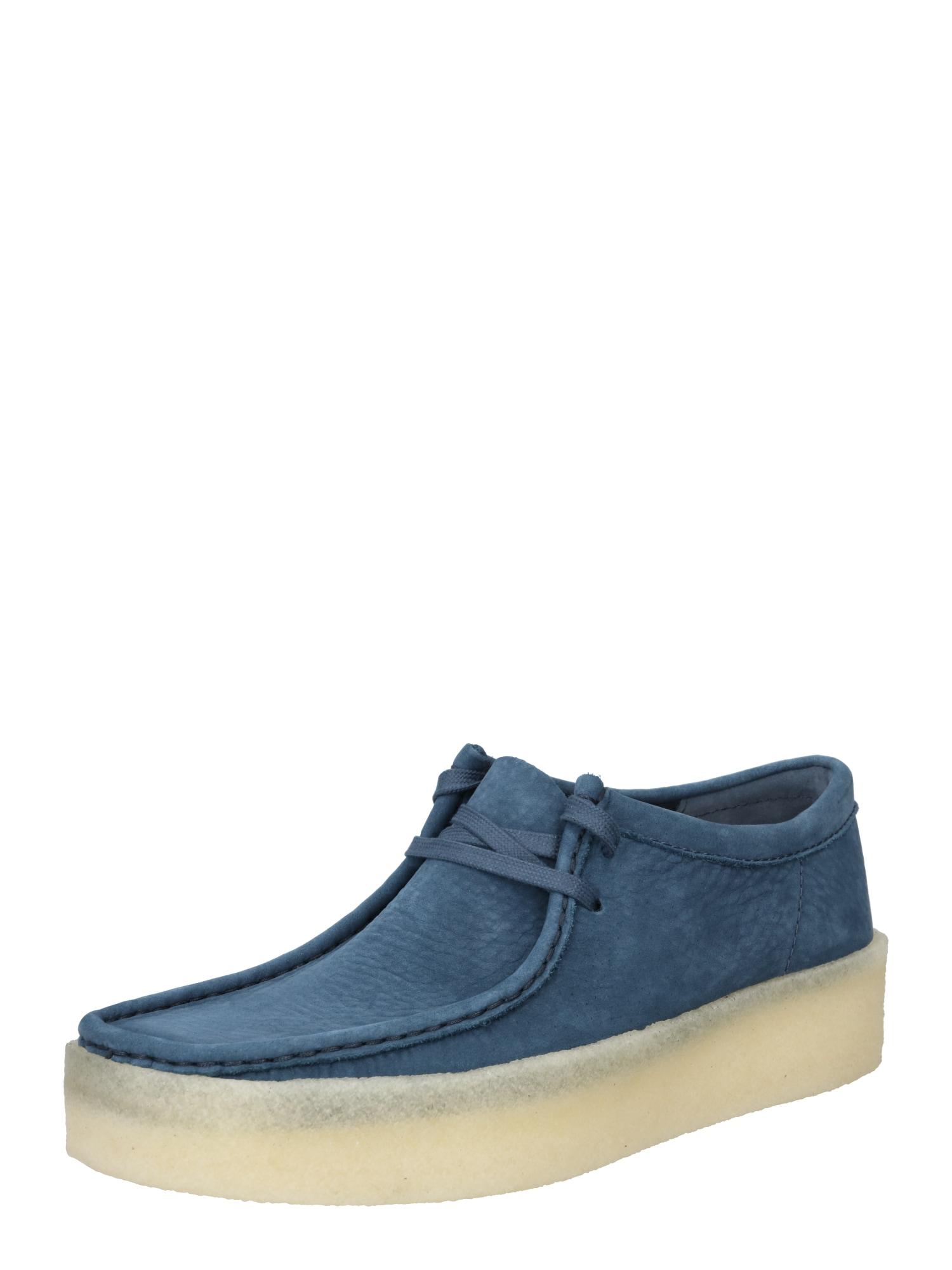 Clarks Originals Šněrovací boty 'Wallabee'  nebeská modř