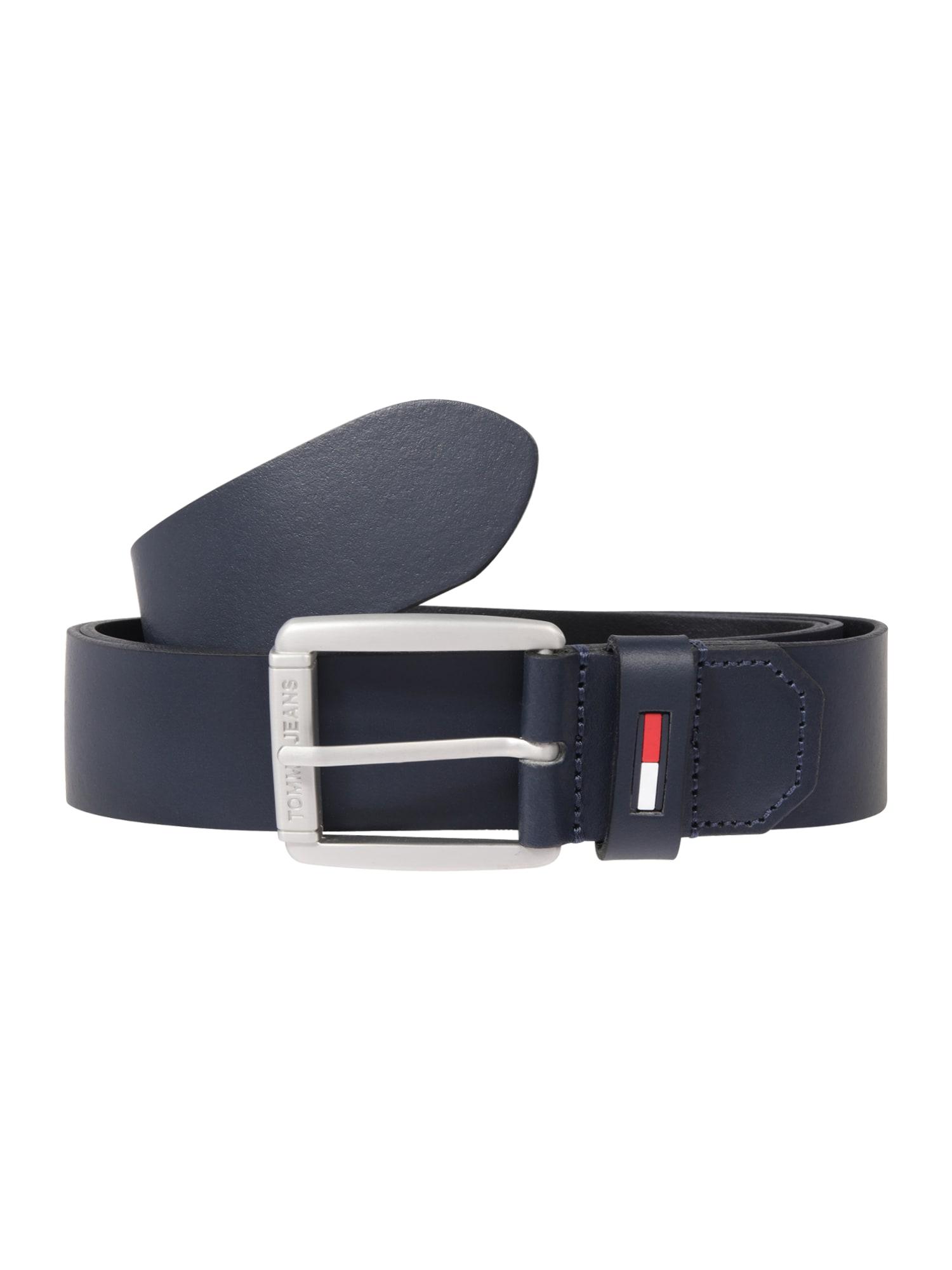 Tommy Jeans Diržas tamsiai mėlyna / balta / raudona