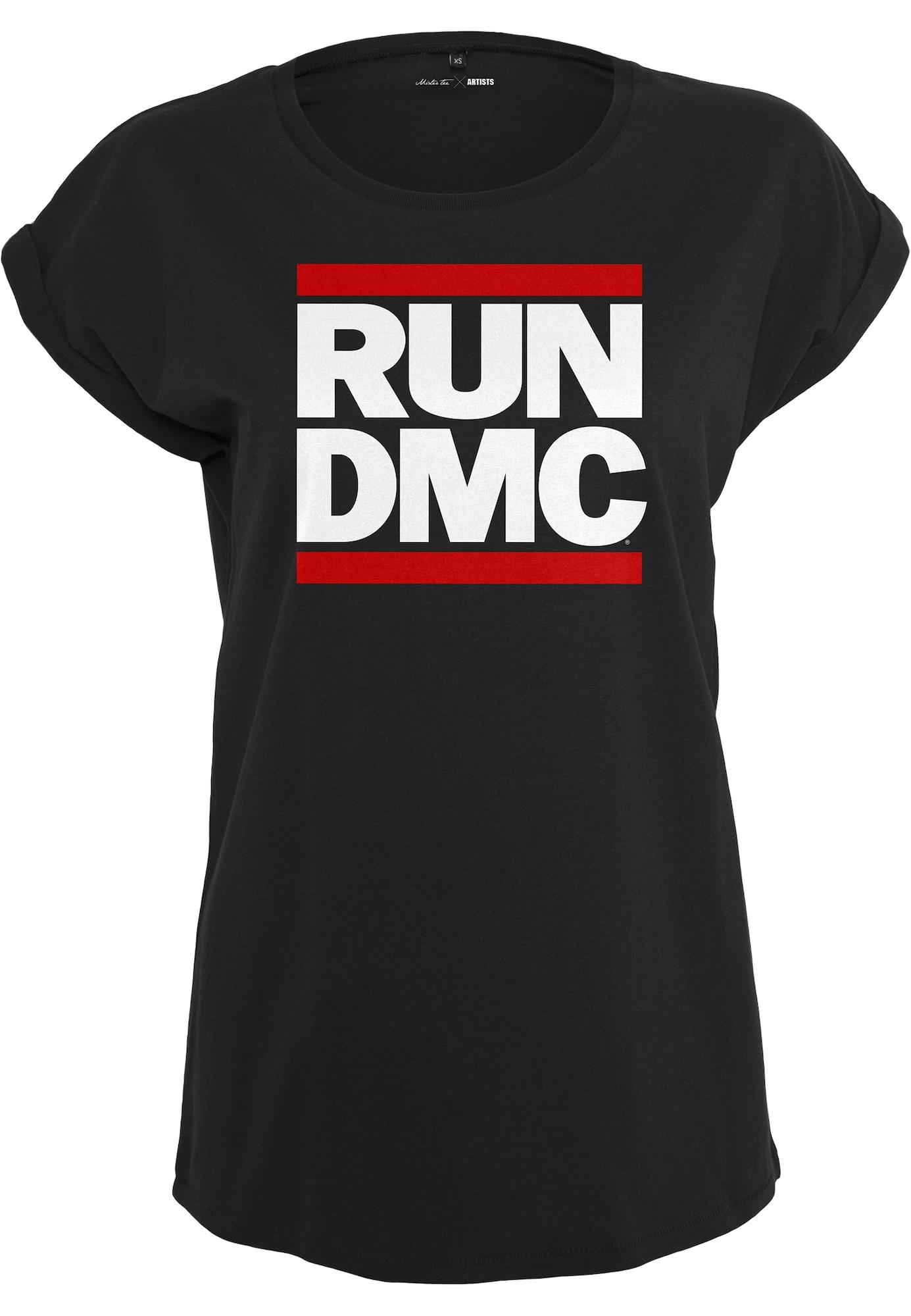 Merchcode Marškinėliai juoda / raudona / balta