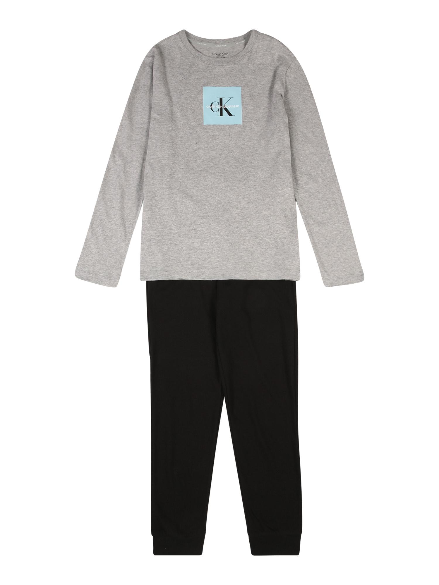 Calvin Klein Underwear Prádlo-souprava  šedý melír / černá / světlemodrá