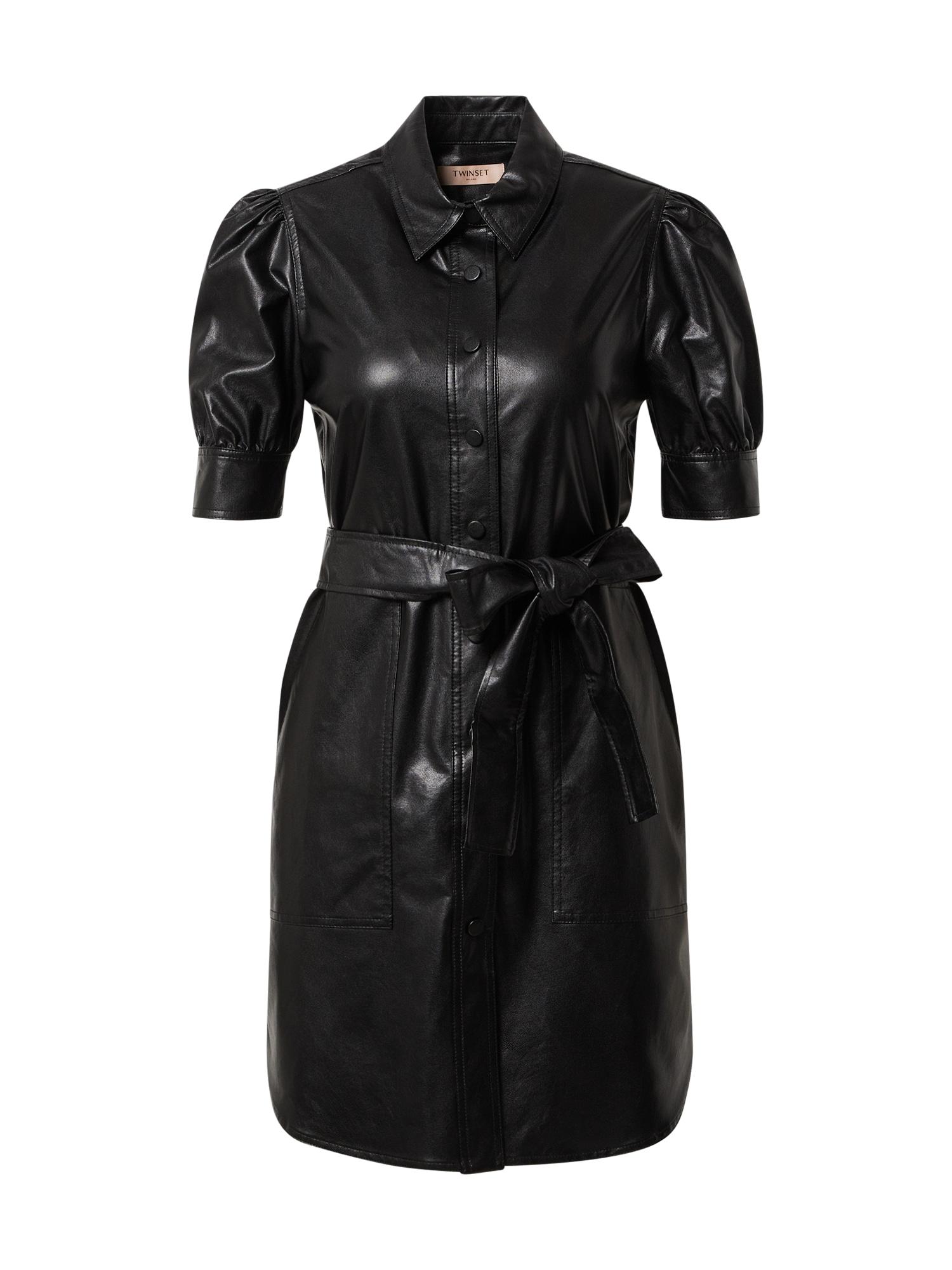 Twinset Palaidinės tipo suknelė juoda