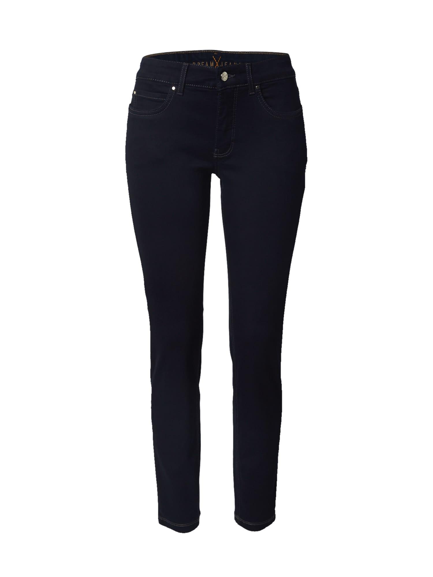 MAC Džinsai juodo džinso spalva