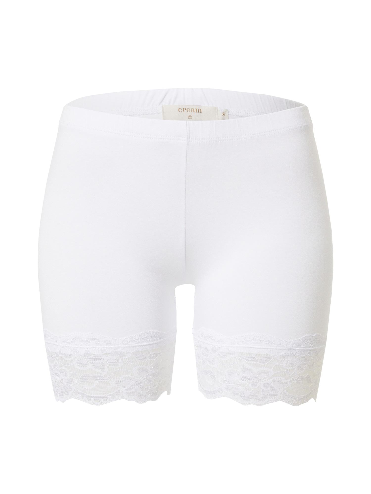 Cream Kelnės 'Matilda' balta