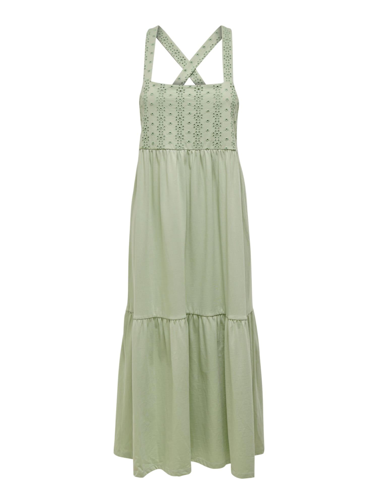 ONLY Letní šaty 'Vanna'  pastelově zelená