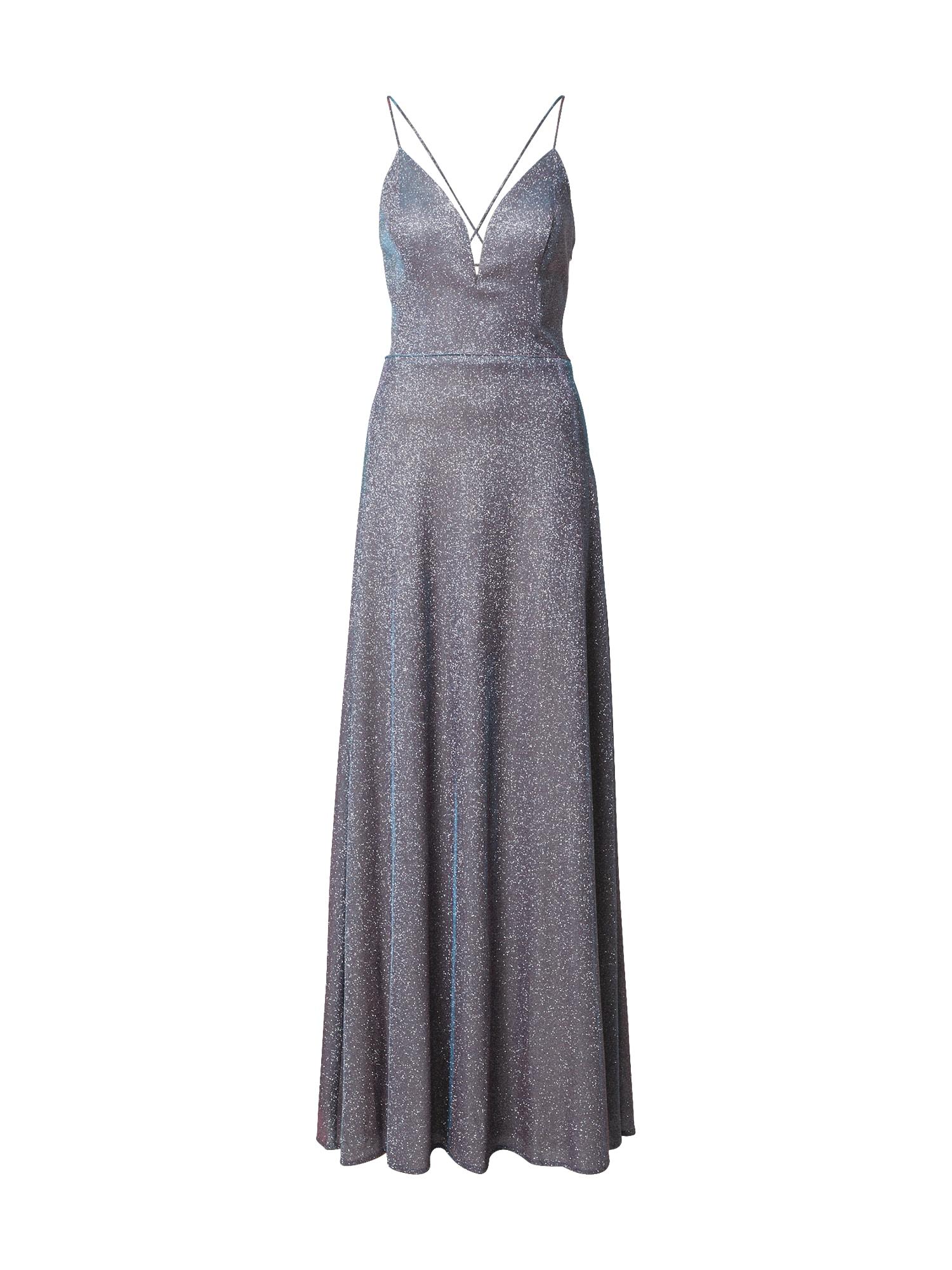 LUXUAR Vakarinė suknelė purpurinė