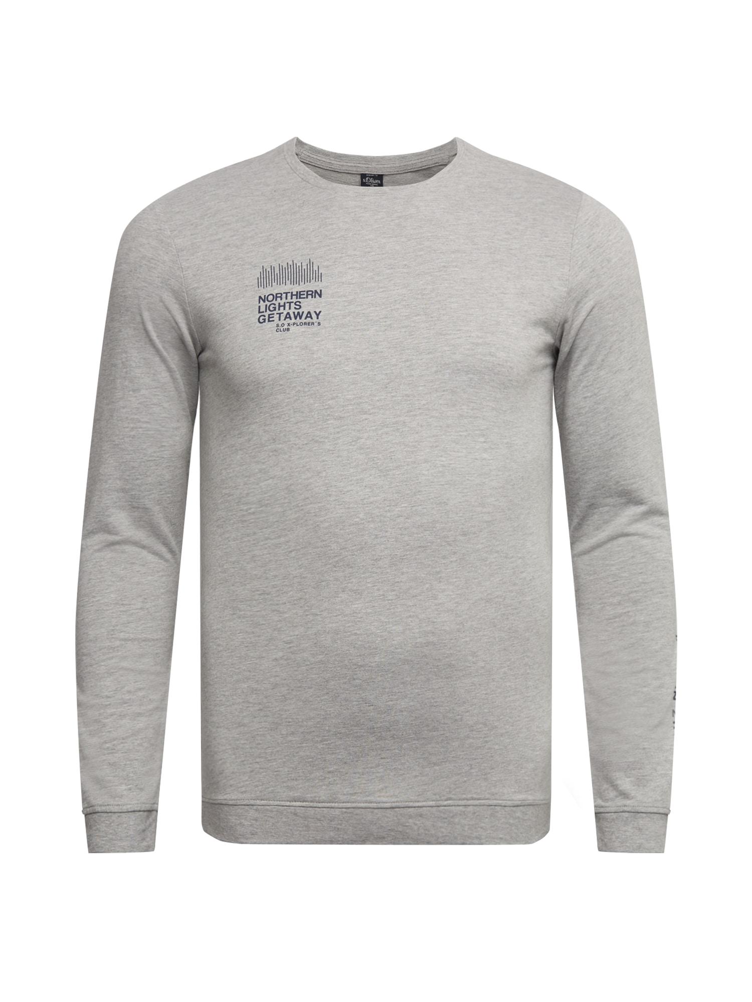 s.Oliver Red Label (Big&Tall) Marškinėliai pilka