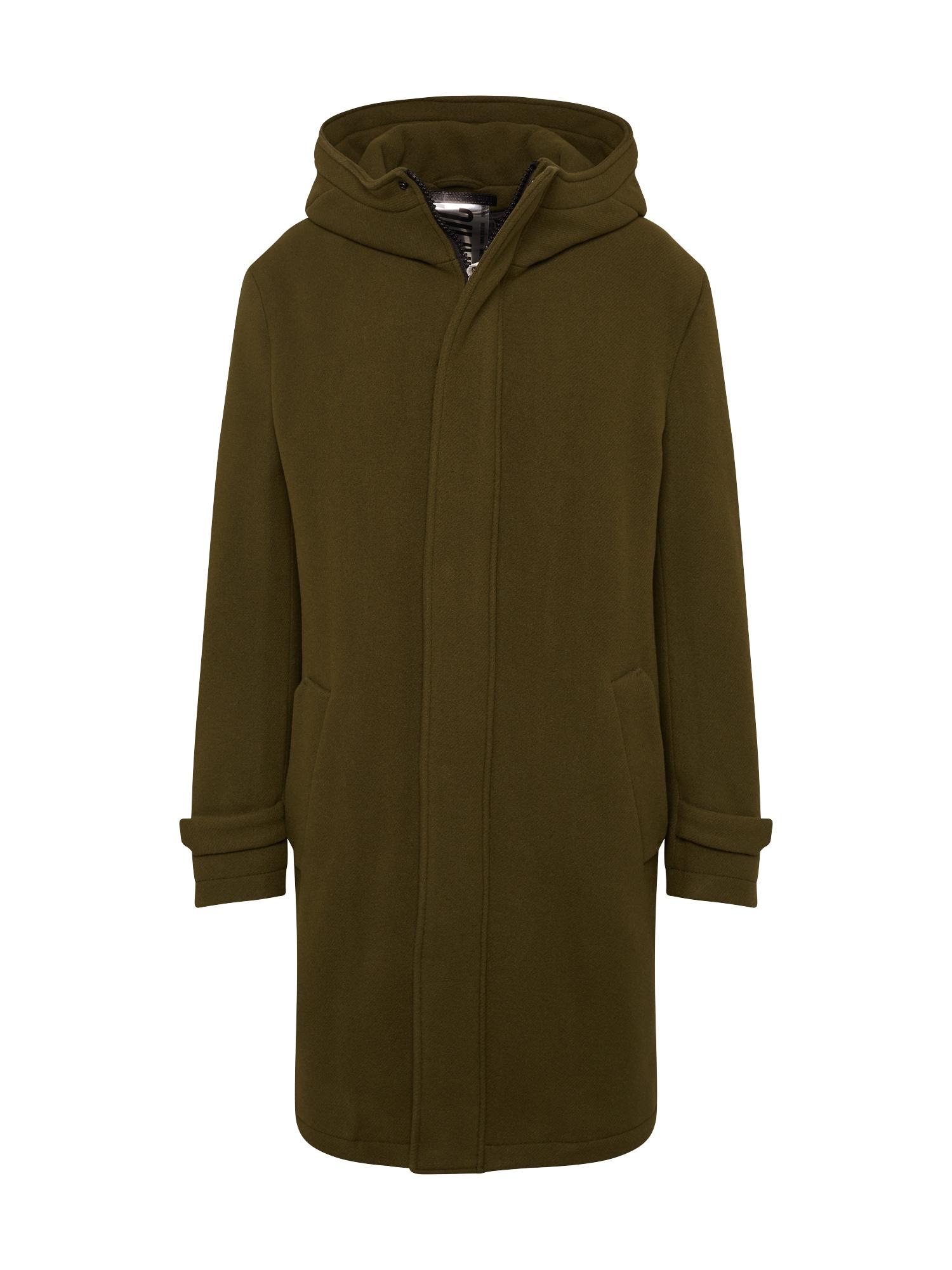 DRYKORN Demisezoninis paltas 'SECSET_H' rusvai žalia