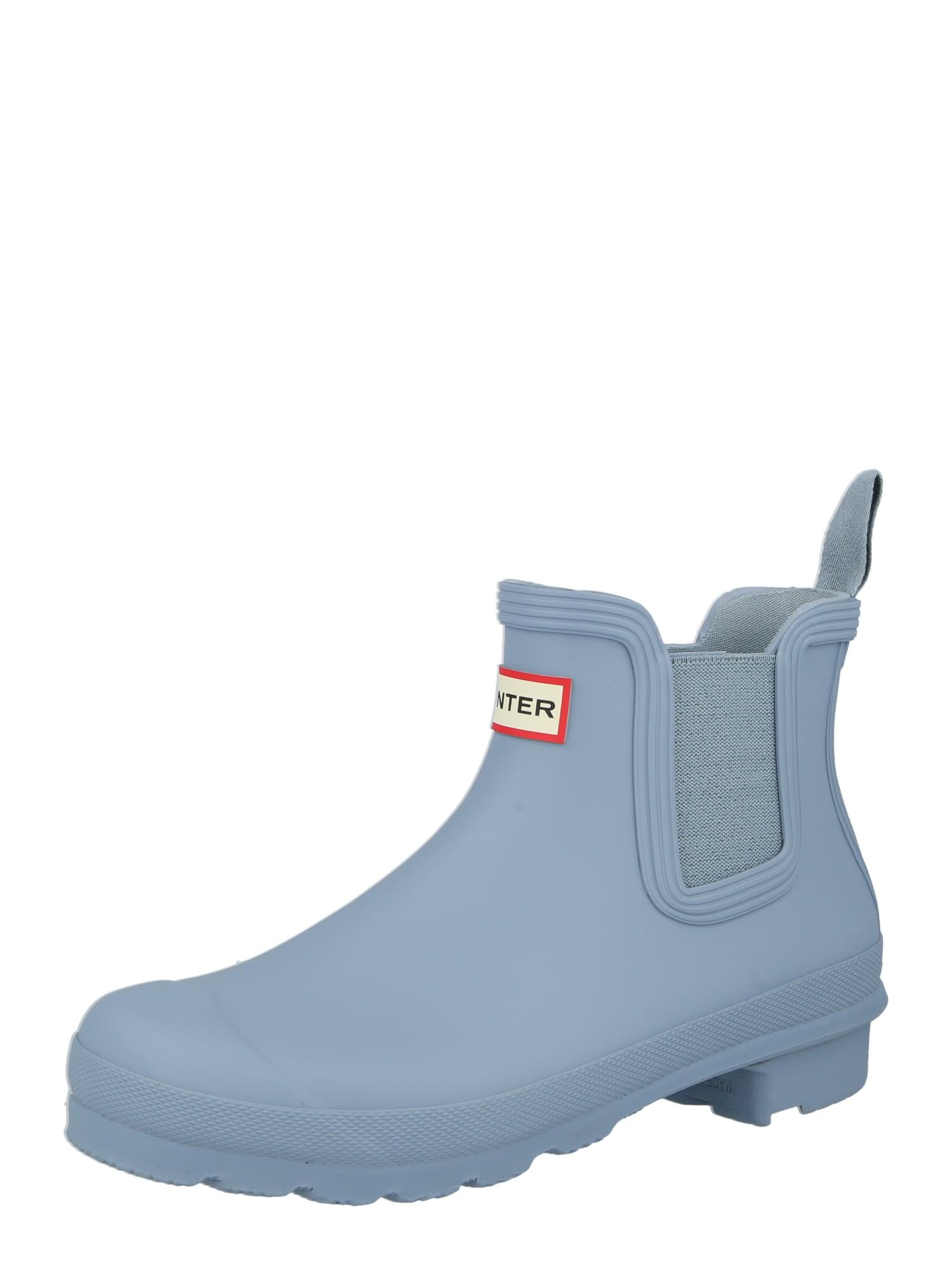 HUNTER Guminiai batai mėlyna dūmų spalva
