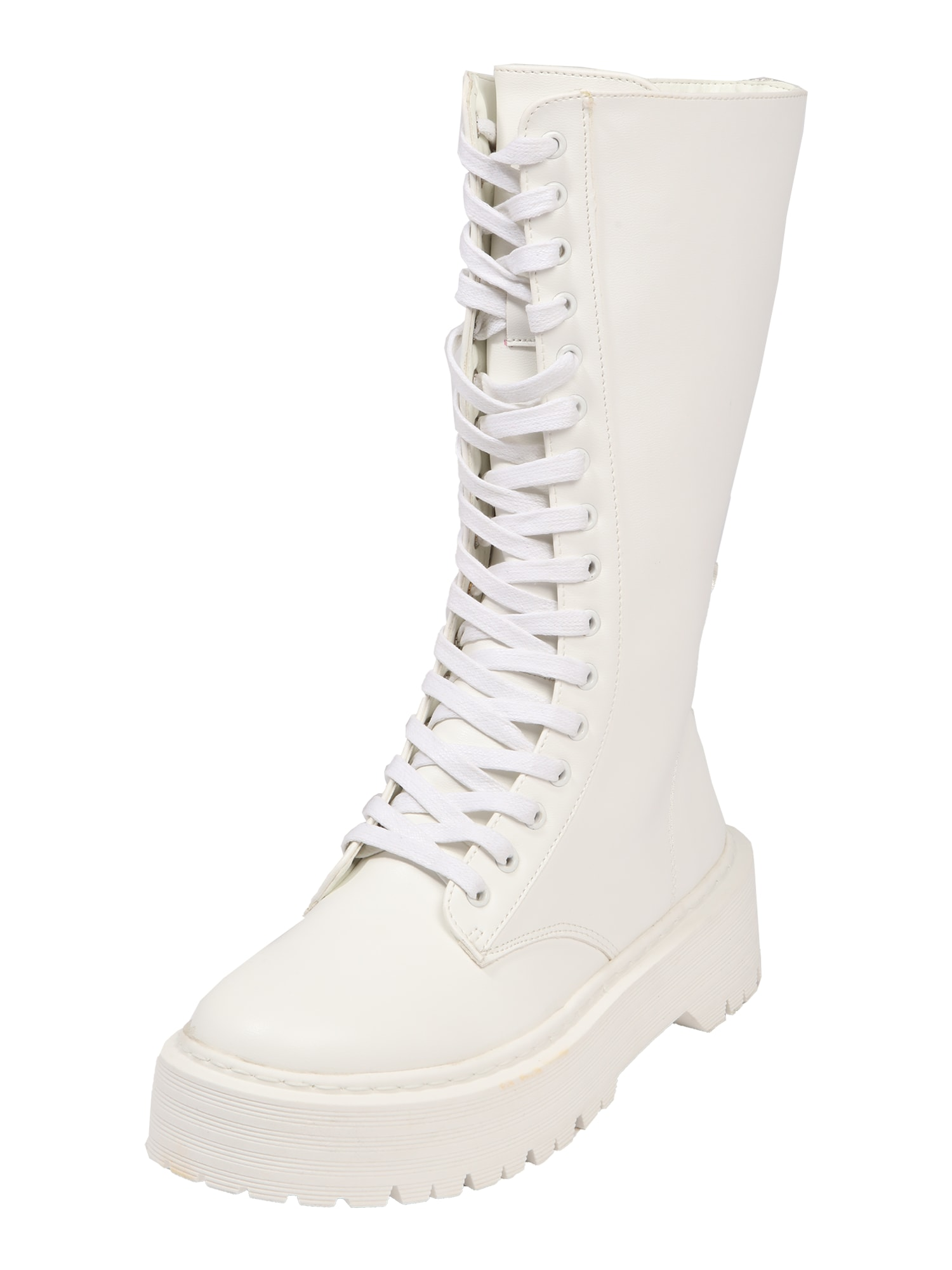 Public Desire Šněrovací boty 'Kendall'  bílá