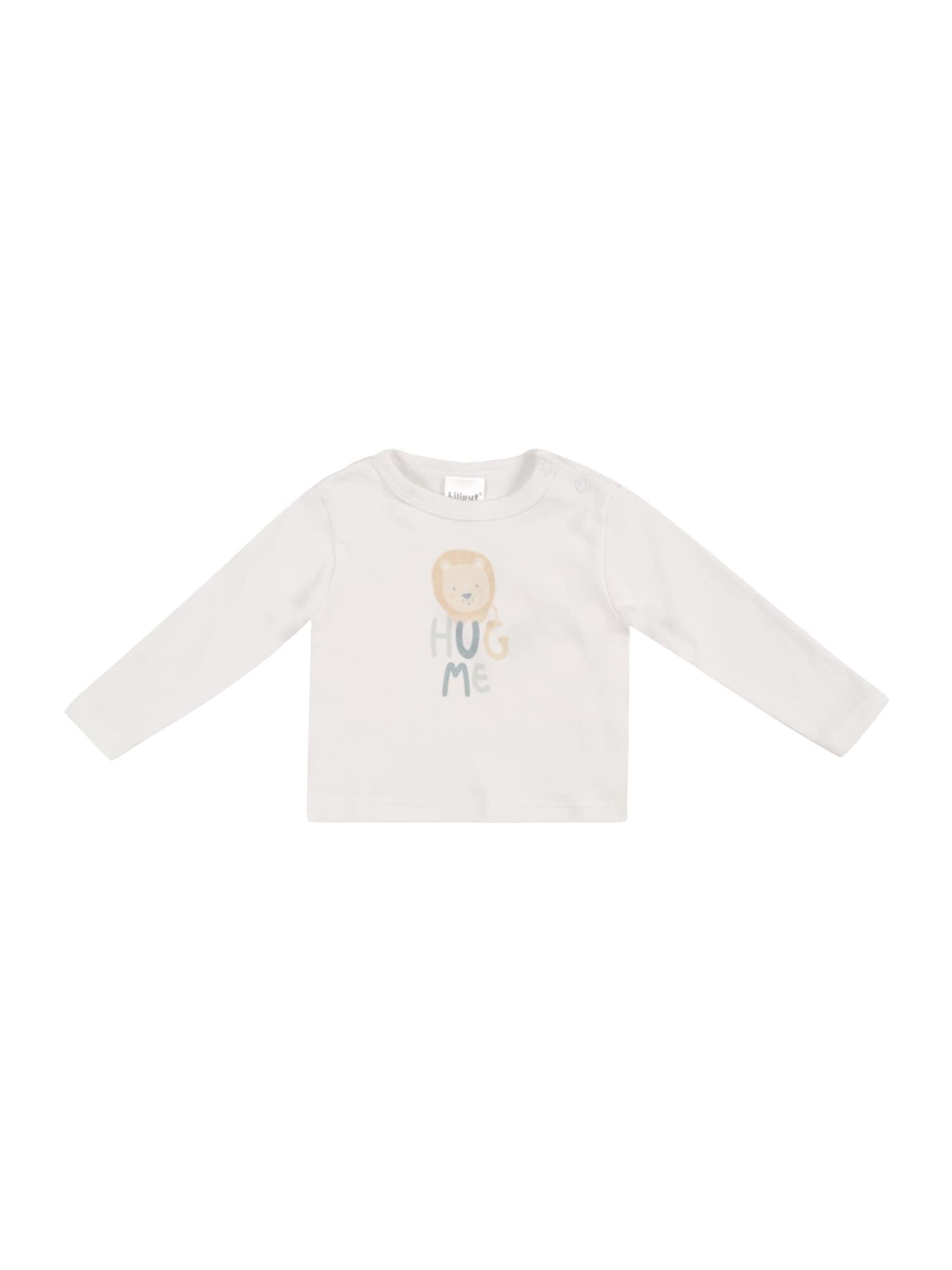LILIPUT Marškinėliai balta / persikų spalva / pastelinė žalia / smaragdinė spalva / abrikosų spalva