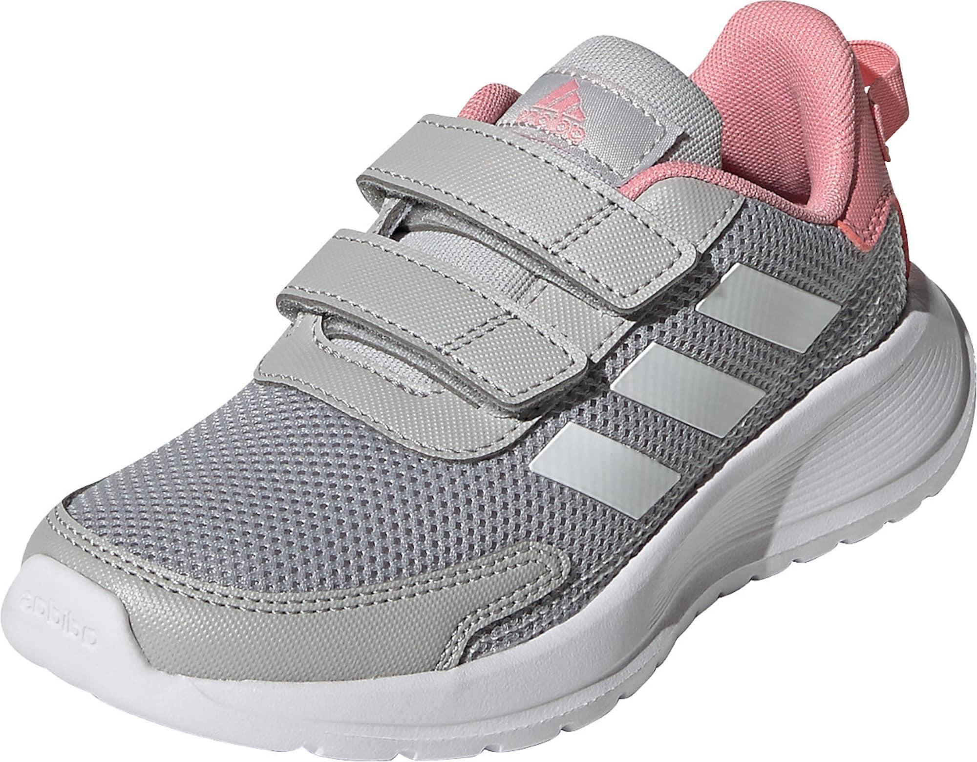 ADIDAS PERFORMANCE Sportiniai batai 'Tensaur' pilka / balta / šviesiai rožinė