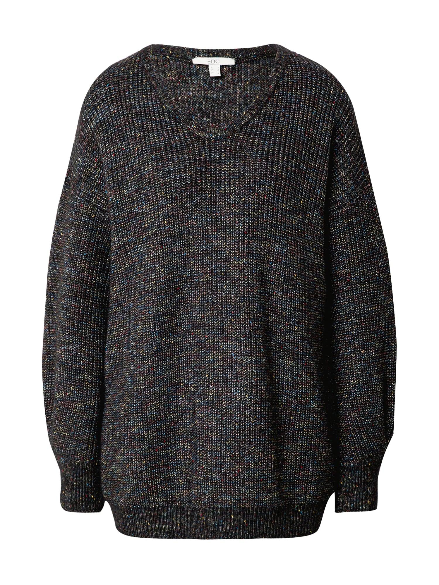 EDC BY ESPRIT Laisvas megztinis tamsiai pilka