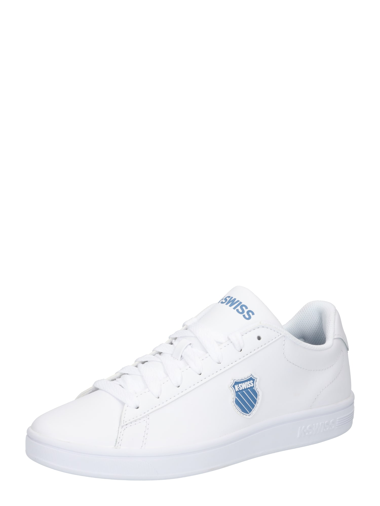 K-SWISS Sportbačiai be auliuko balta / šviesiai mėlyna / mėlyna dūmų spalva