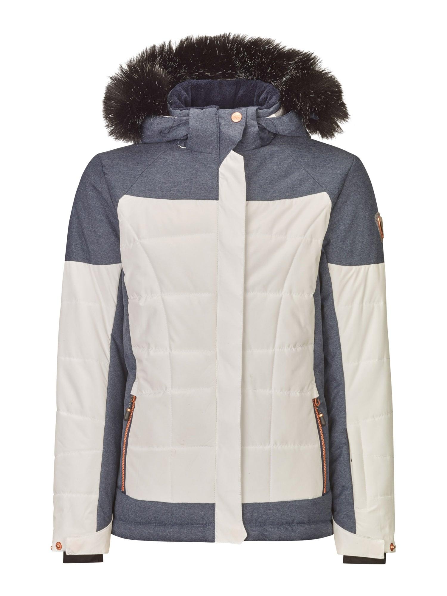 KILLTEC Outdoorová bunda 'Ambelina'  modrá džínovina / offwhite