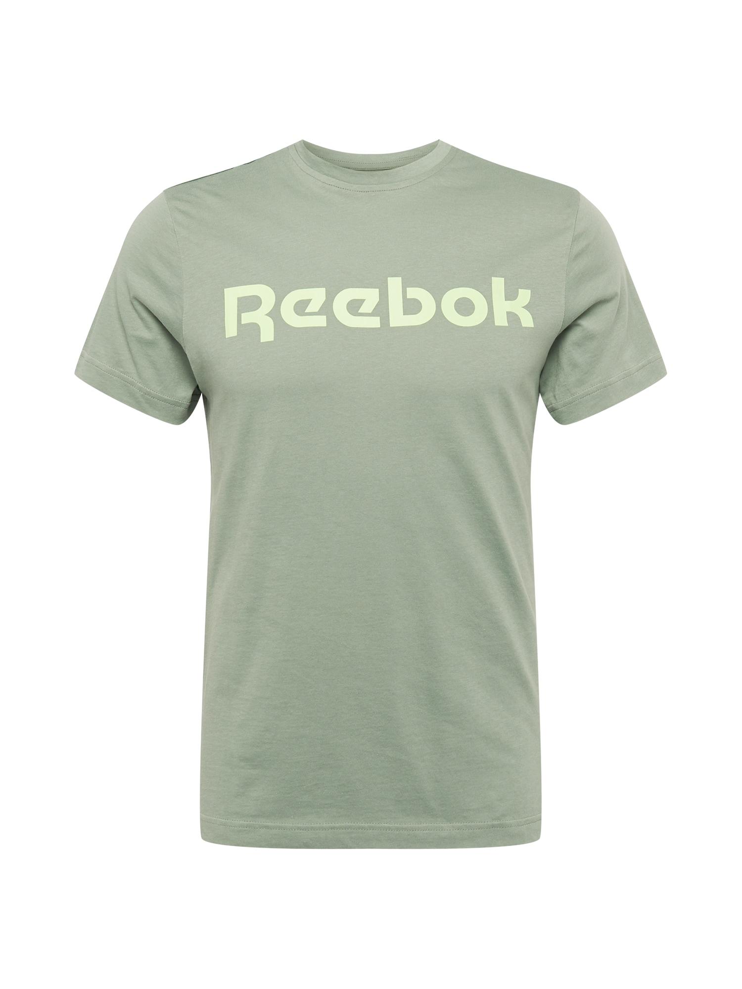 REEBOK Funkční tričko  zelená