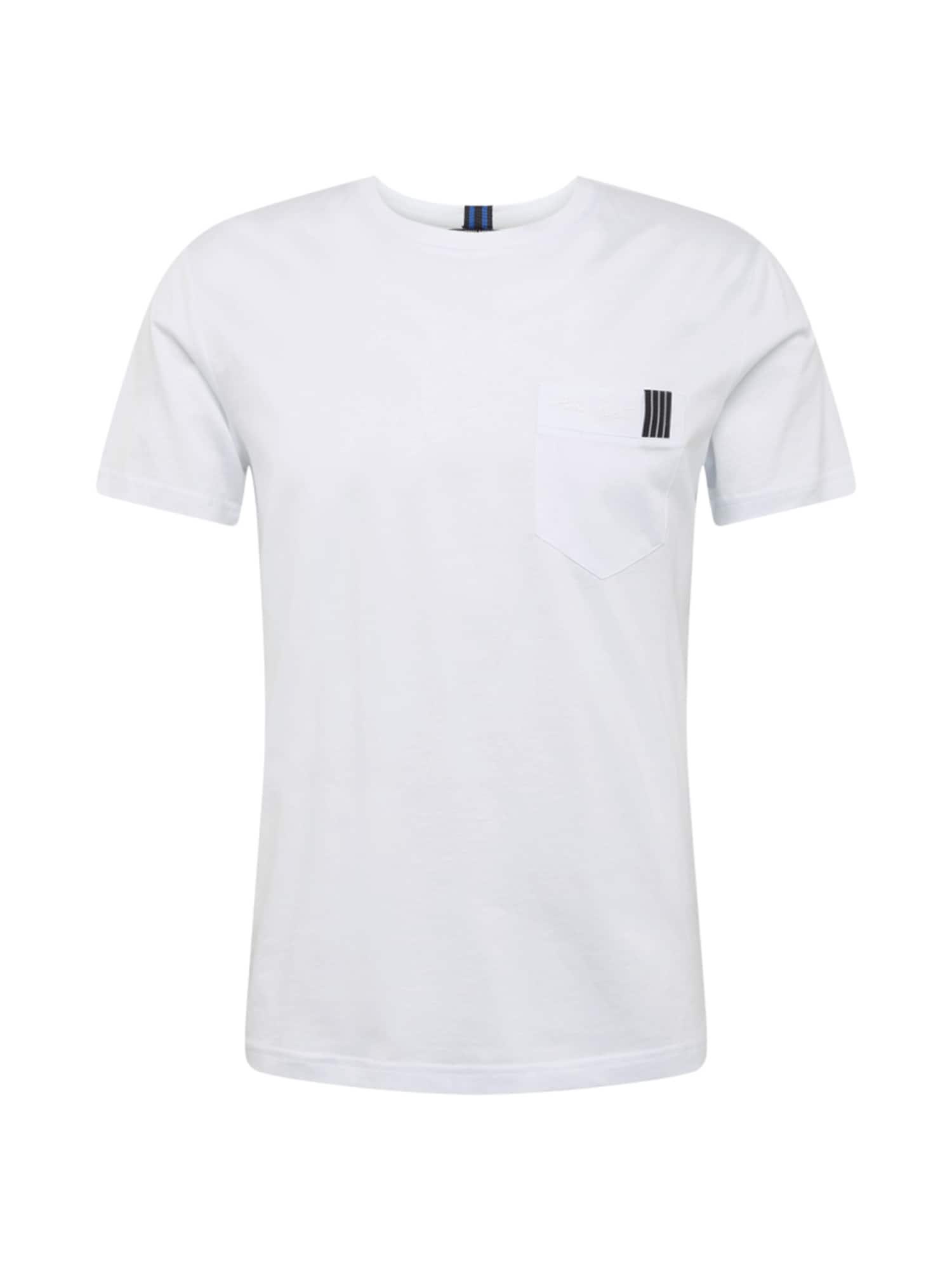 ANTONY MORATO Marškinėliai balta / mėlyna / juoda