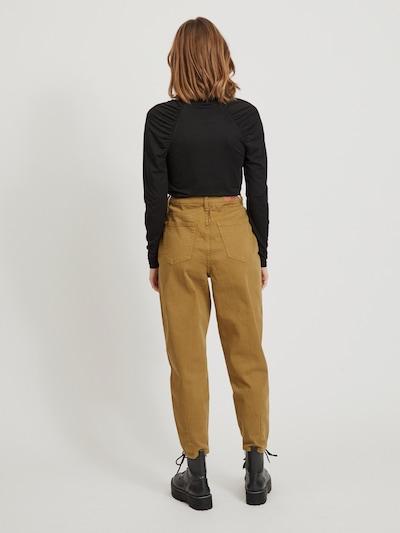 Object Roxane Knöchellange Twill-Jeans mit hohem Bund