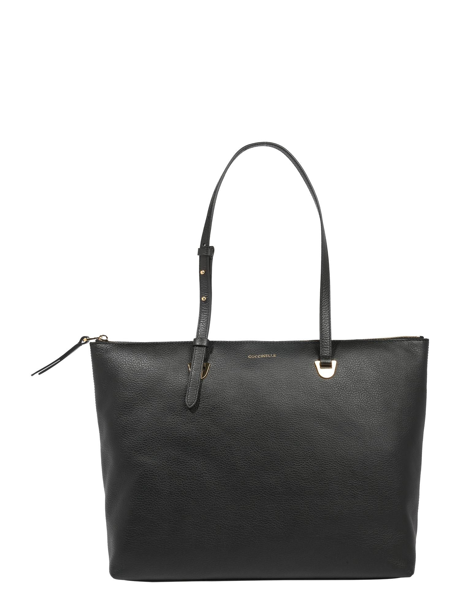 Coccinelle Pirkinių krepšys juoda