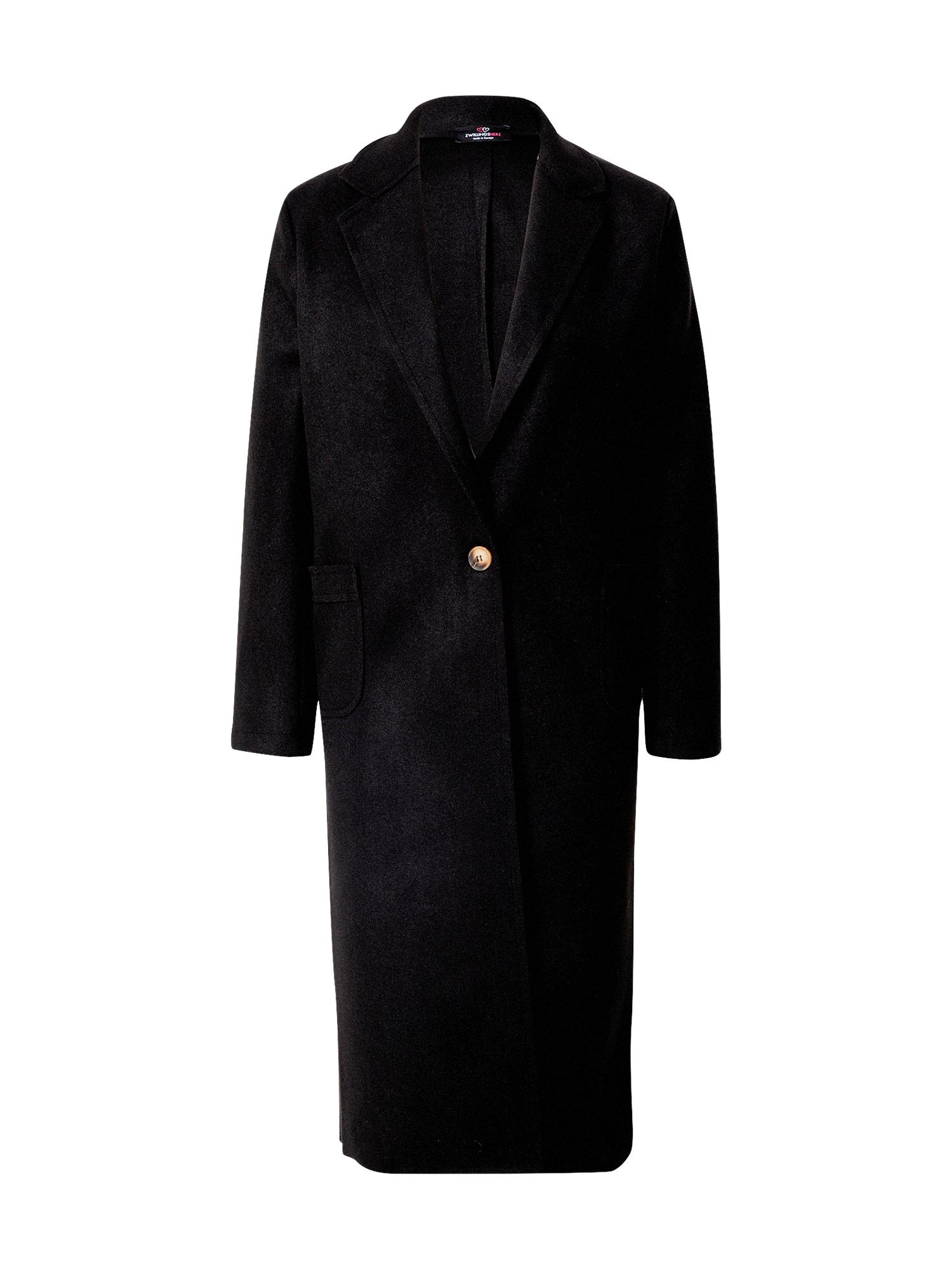 Zwillingsherz Demisezoninis paltas juoda