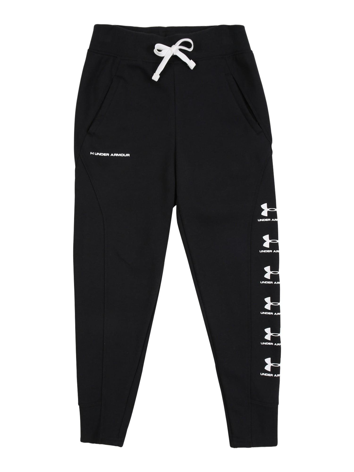 UNDER ARMOUR Sportovní kalhoty 'Rival'  černá