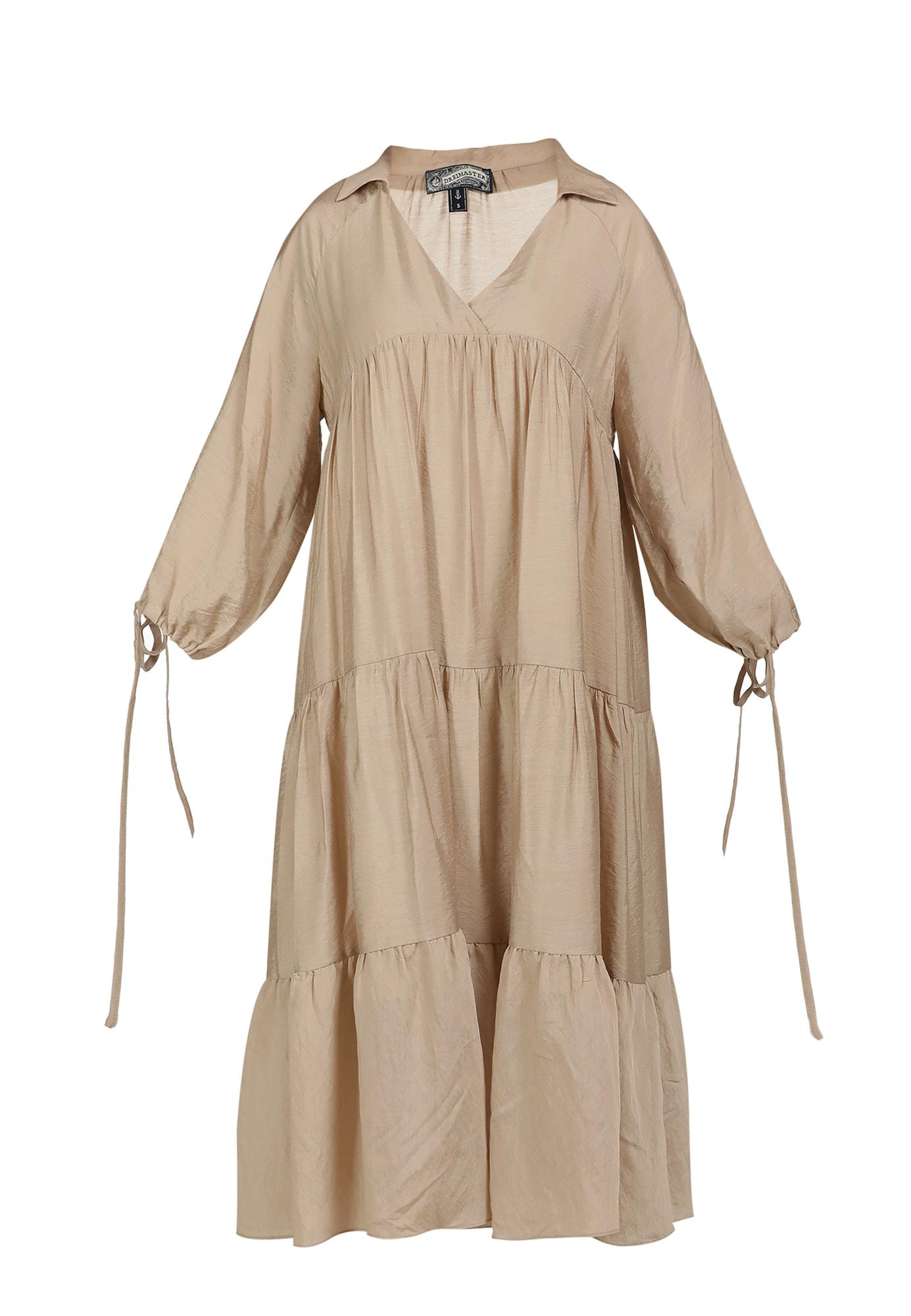 DreiMaster Vintage Vasarinė suknelė šviesiai ruda