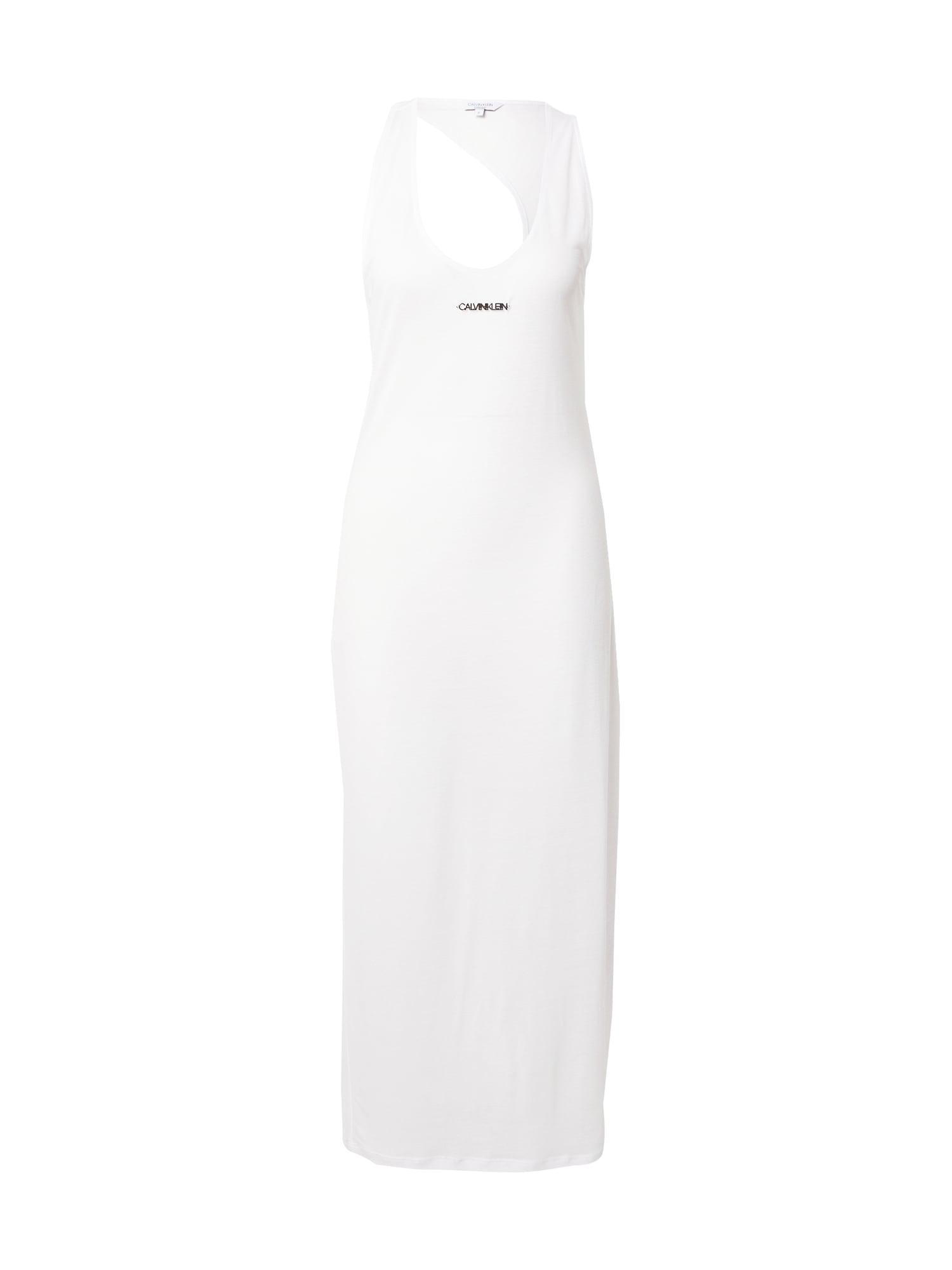 Calvin Klein Swimwear Paplūdimio suknelė balta