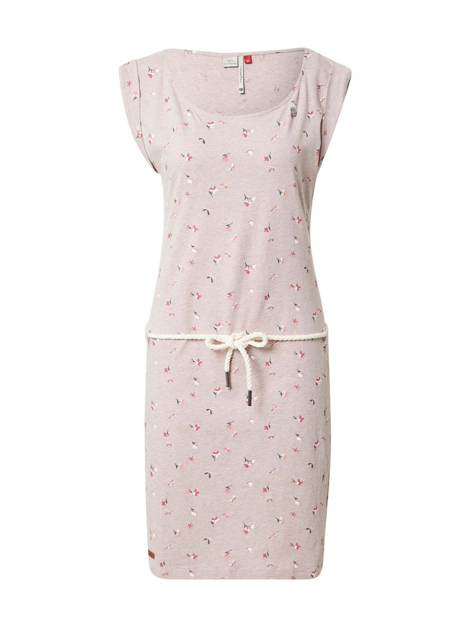 Ragwear Šaty 'Tamy'  světle růžová / bílá