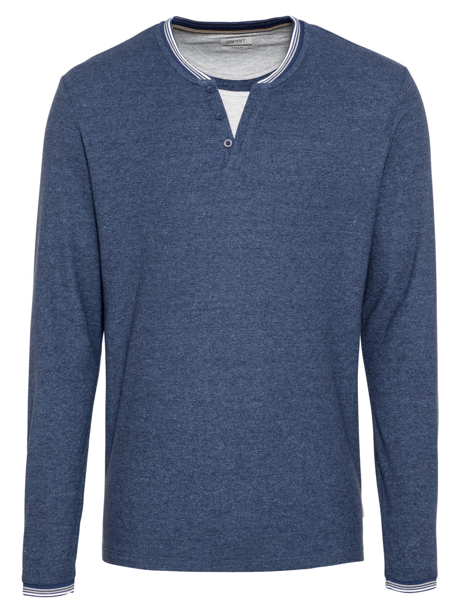 ESPRIT Marškinėliai margai mėlyna
