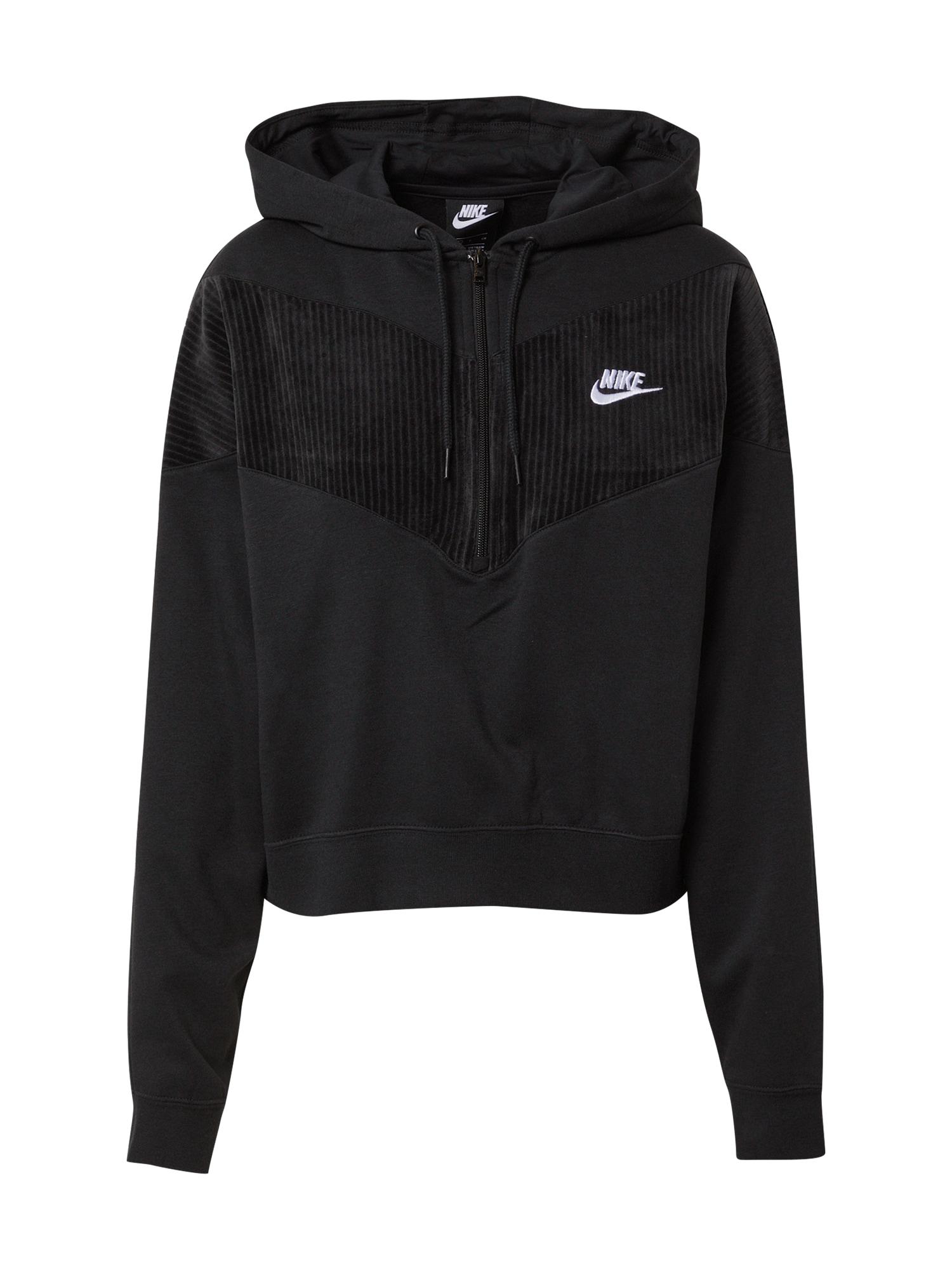 Nike Sportswear Mikina 'Heritage'  černá