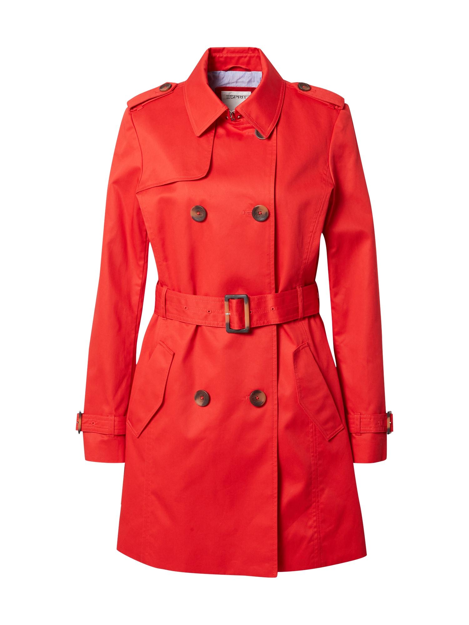ESPRIT Demisezoninis paltas raudona