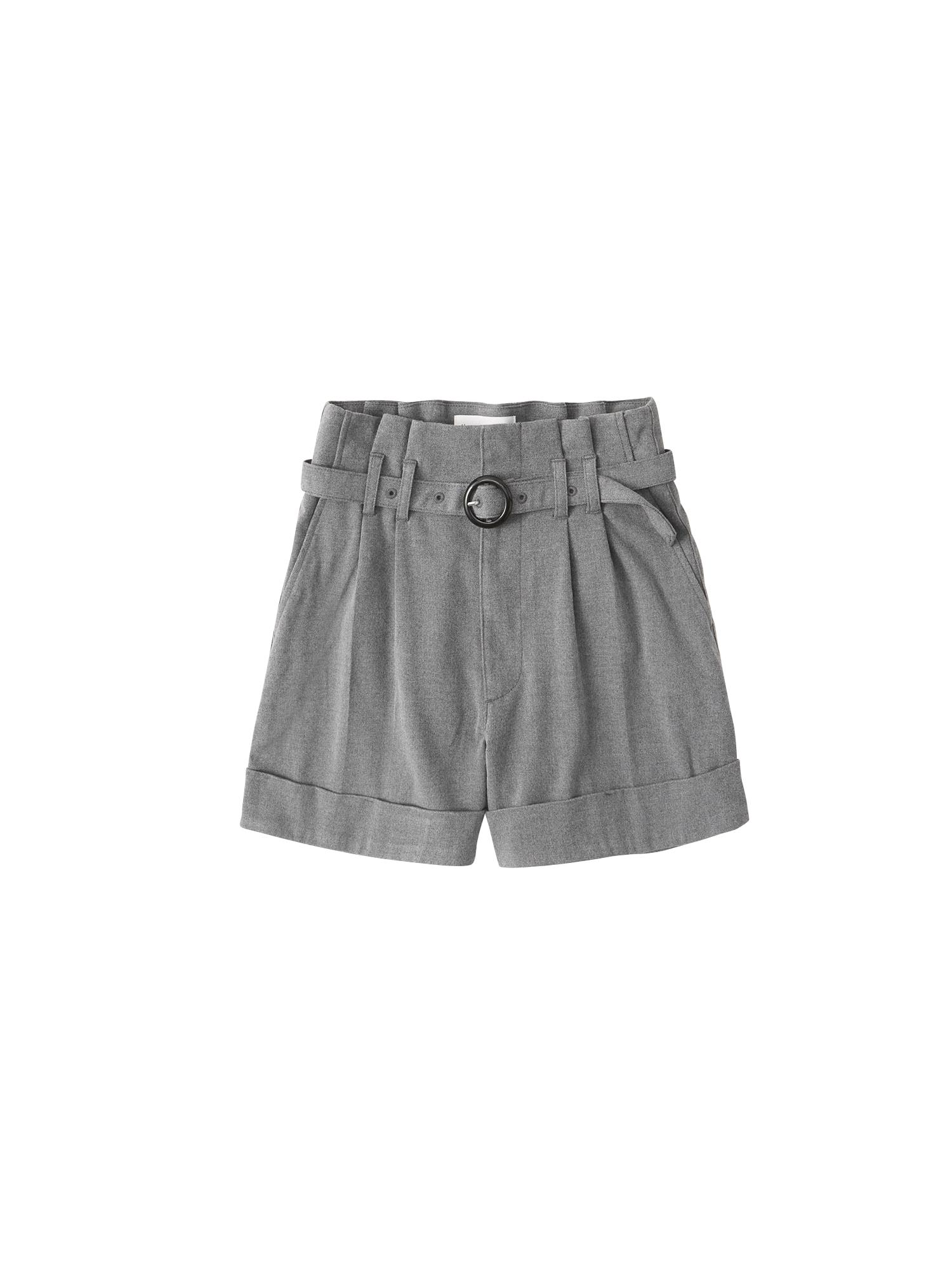 Abercrombie & Fitch Kelnės su kantu pilka