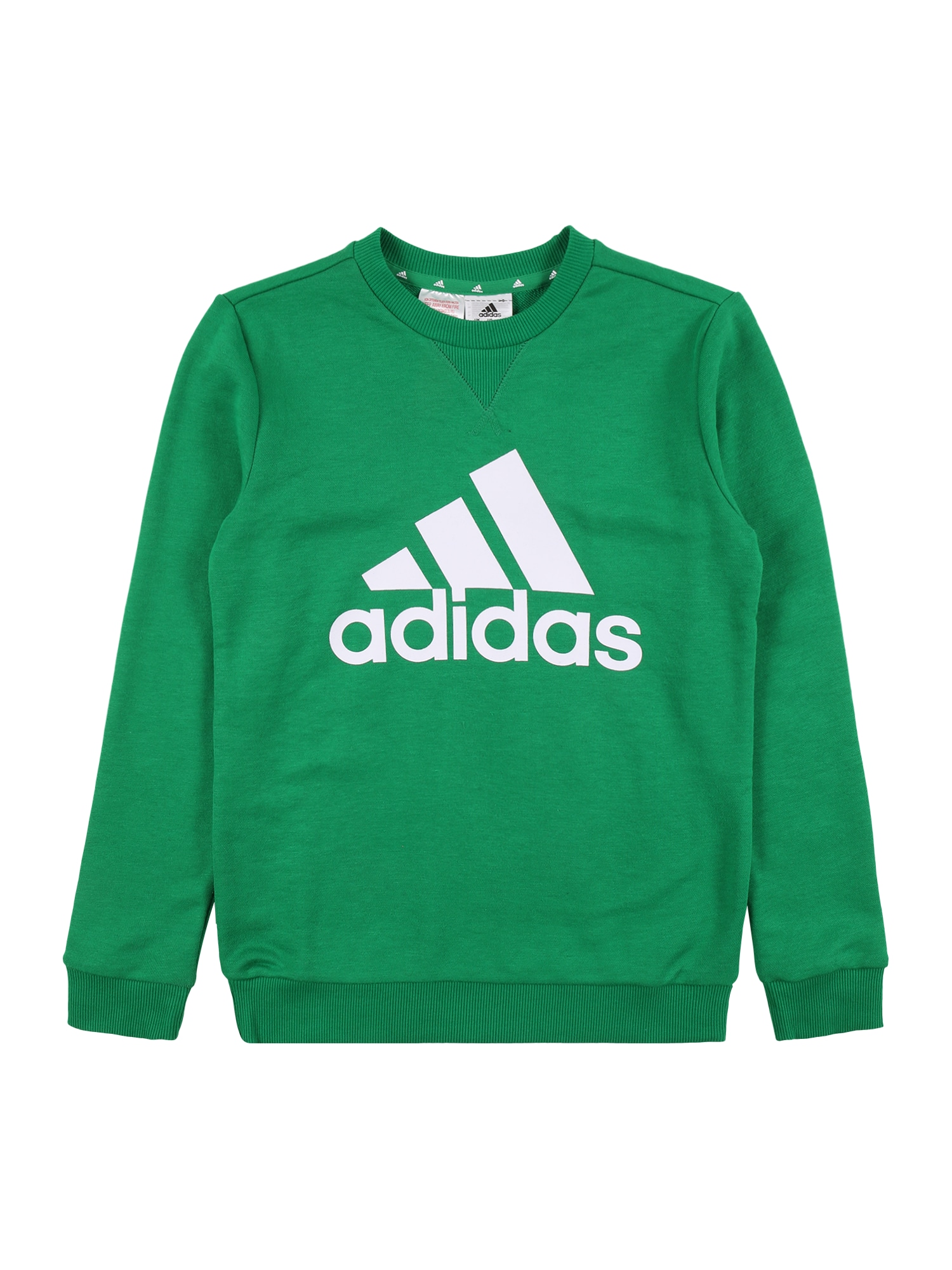 ADIDAS PERFORMANCE Sportinio tipo megztinis žalia / balta
