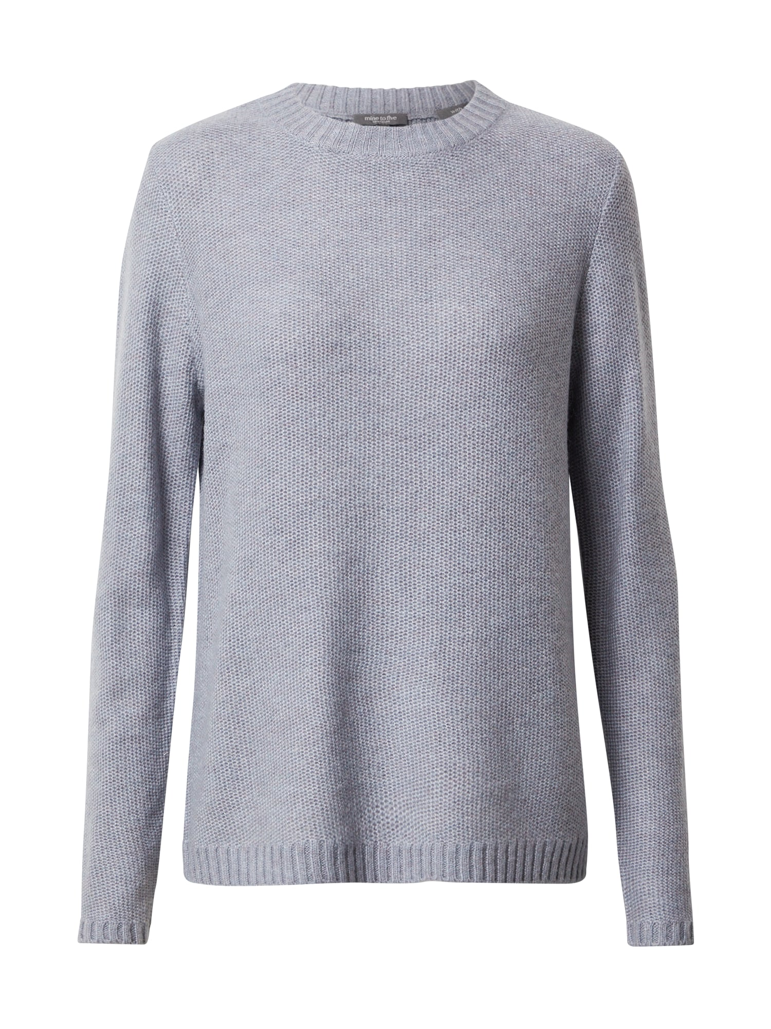 MINE TO FIVE Megztinis mėlyna dūmų spalva