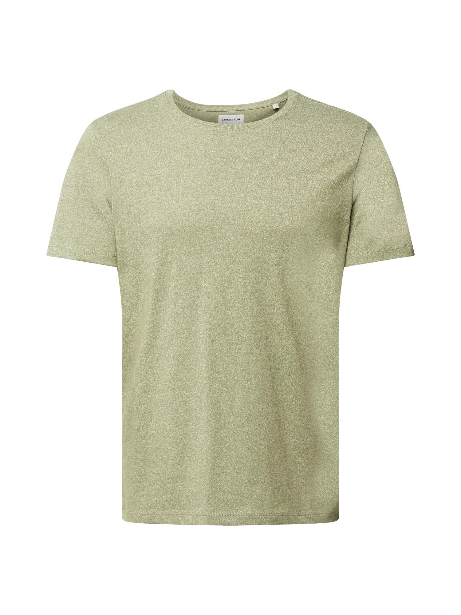 Lindbergh Marškinėliai rusvai žalia