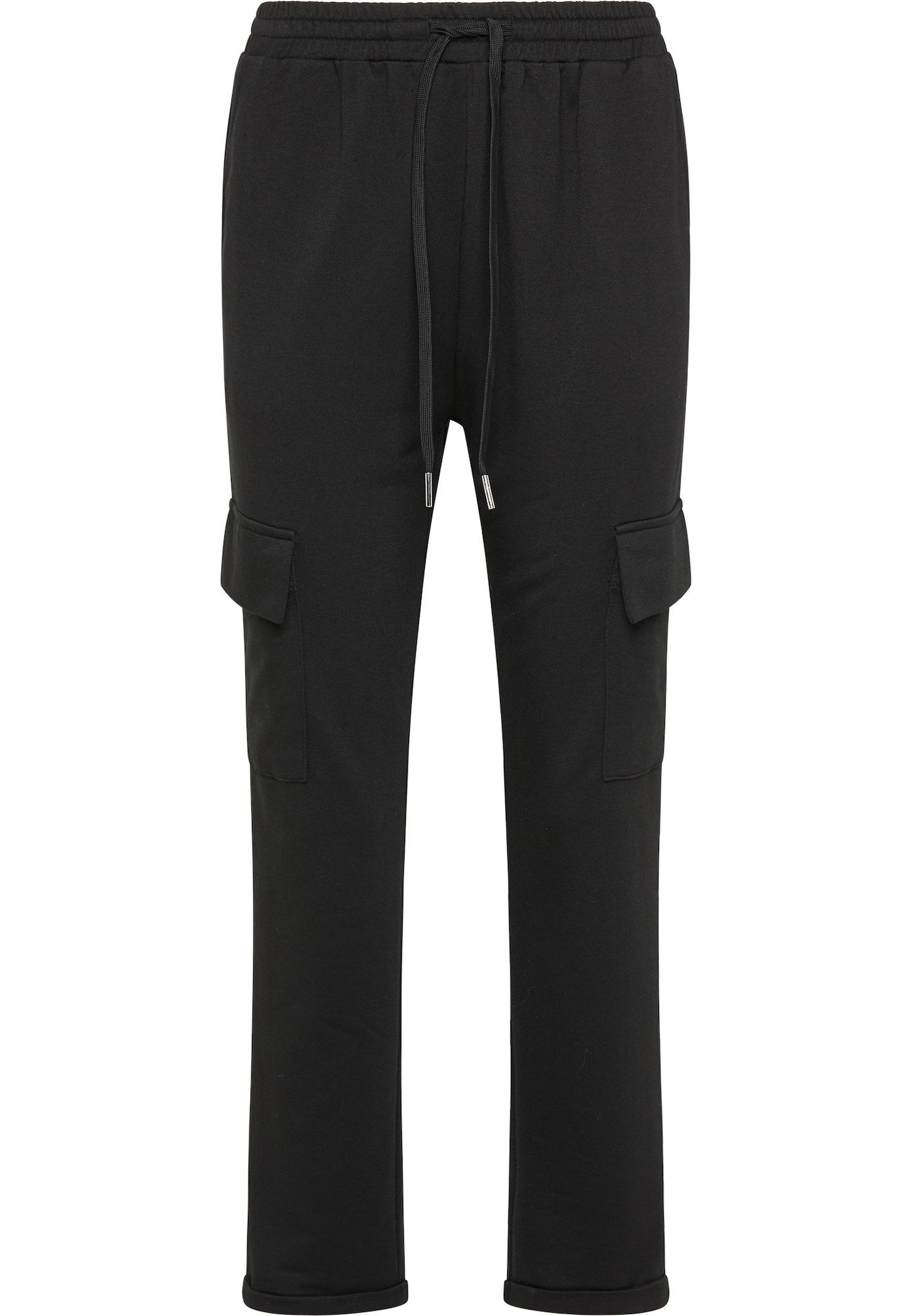 usha BLUE LABEL Laisvo stiliaus kelnės juoda