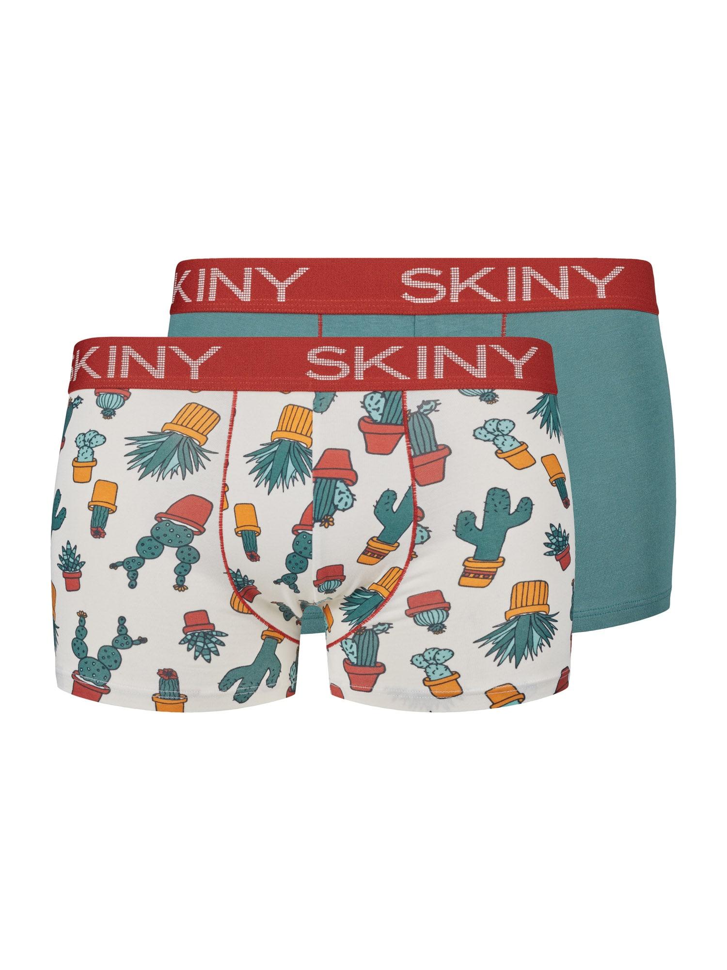 Skiny Boxer trumpikės tamsiai oranžinė / opalo / raudona / smėlio