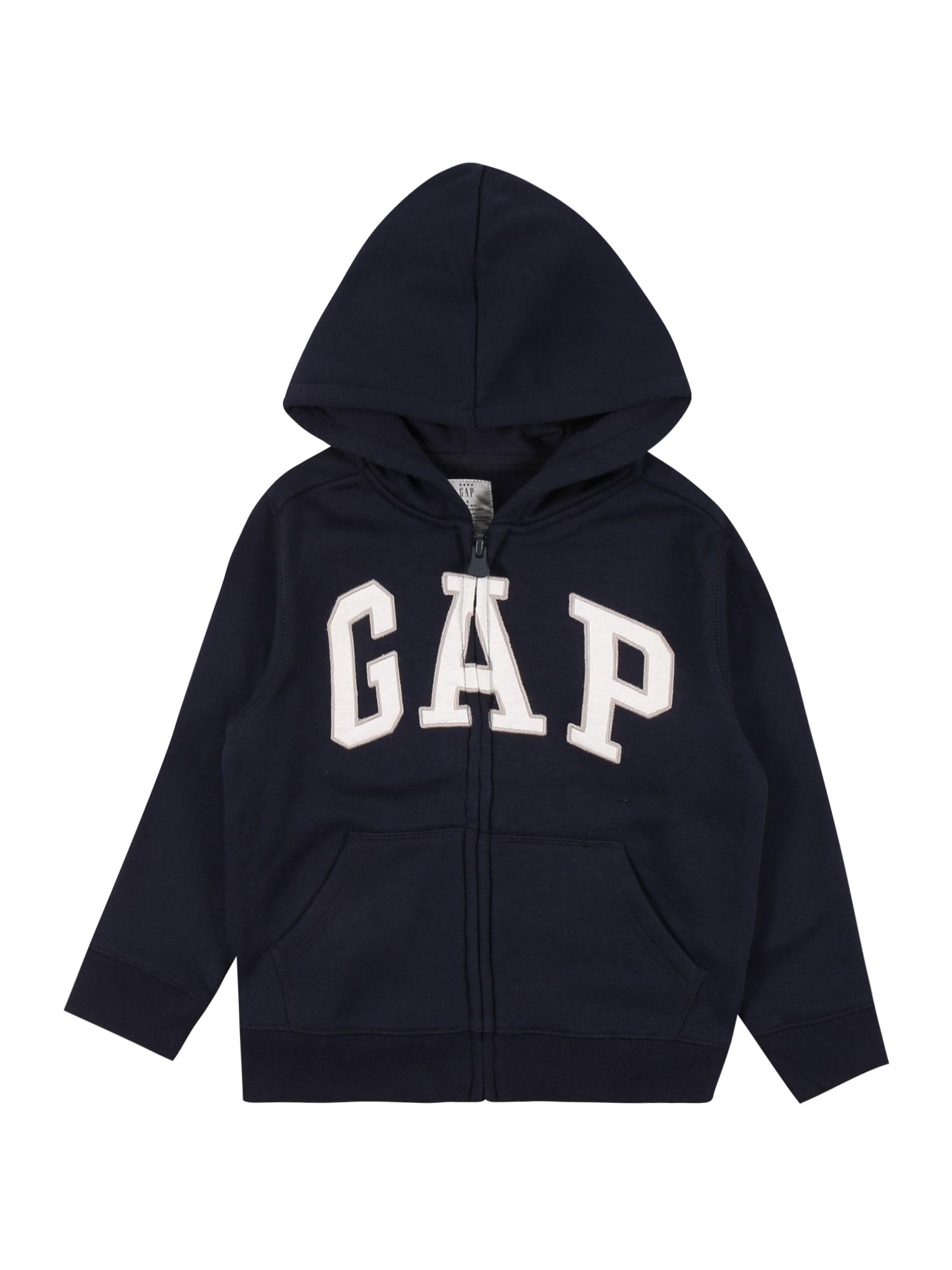 GAP Džemperis mėlyna / balta