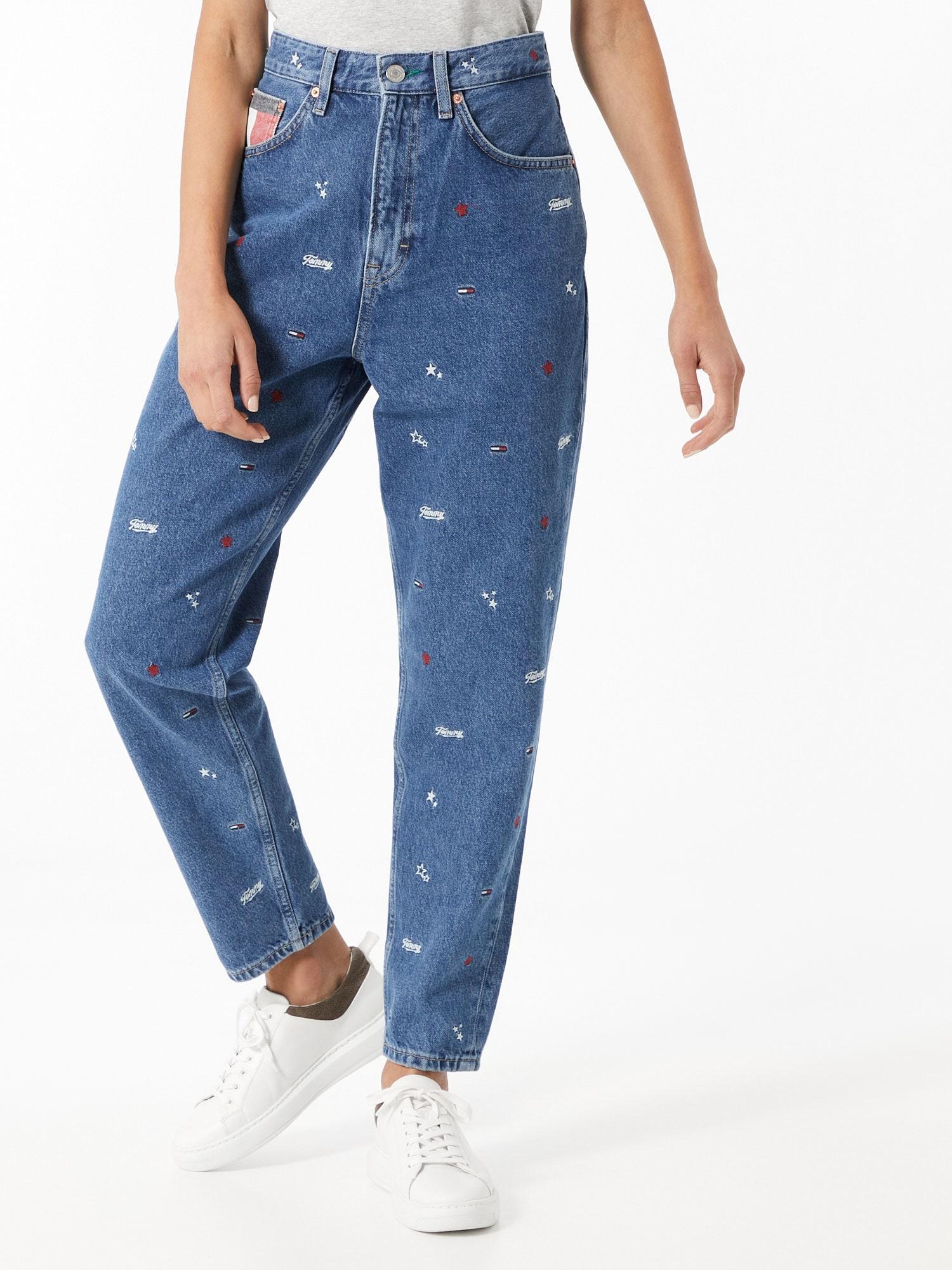 Tommy Jeans Jeans  blå denim / blandade färger
