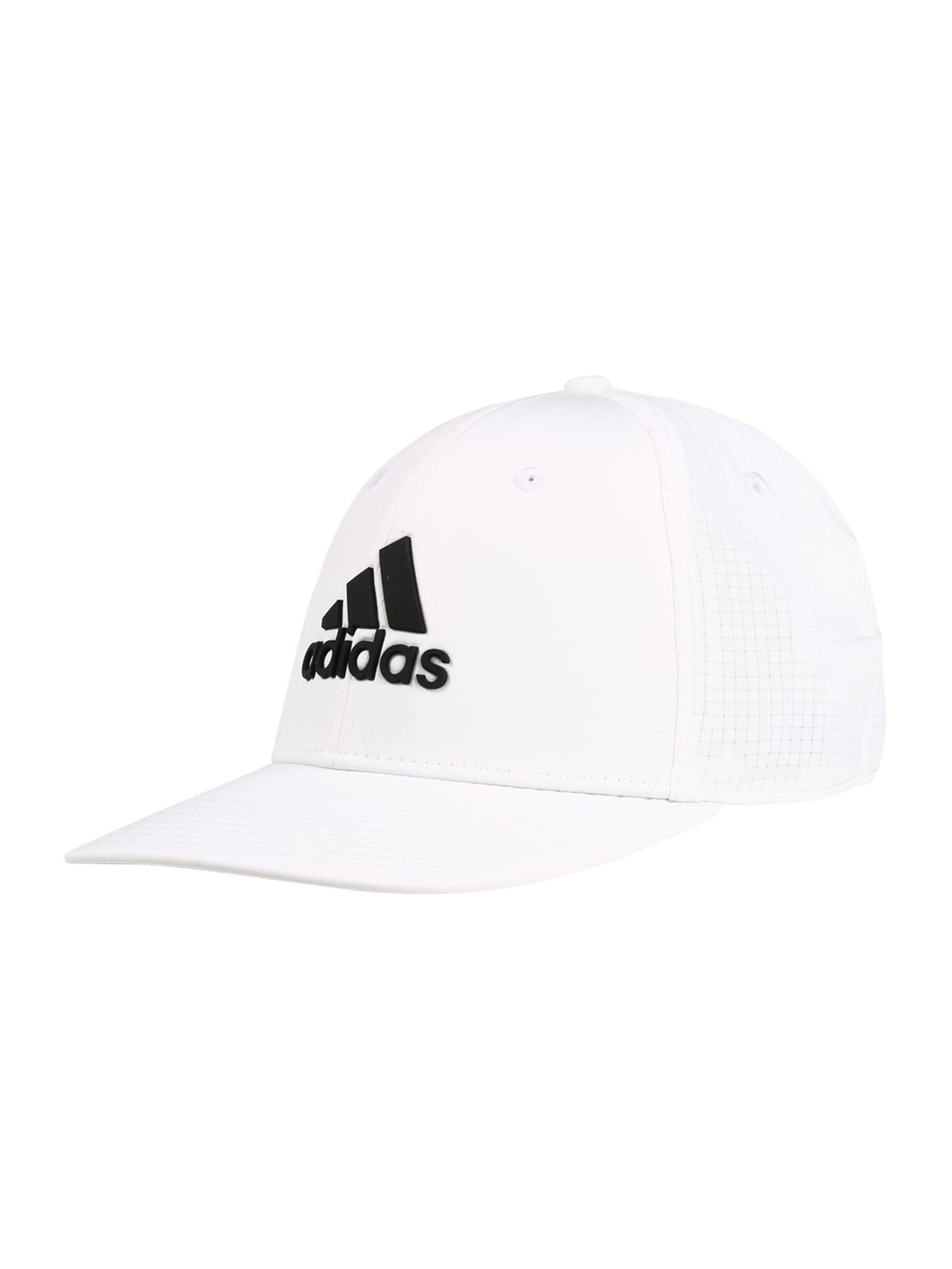 adidas Golf Sportinė kepurė juoda / balta