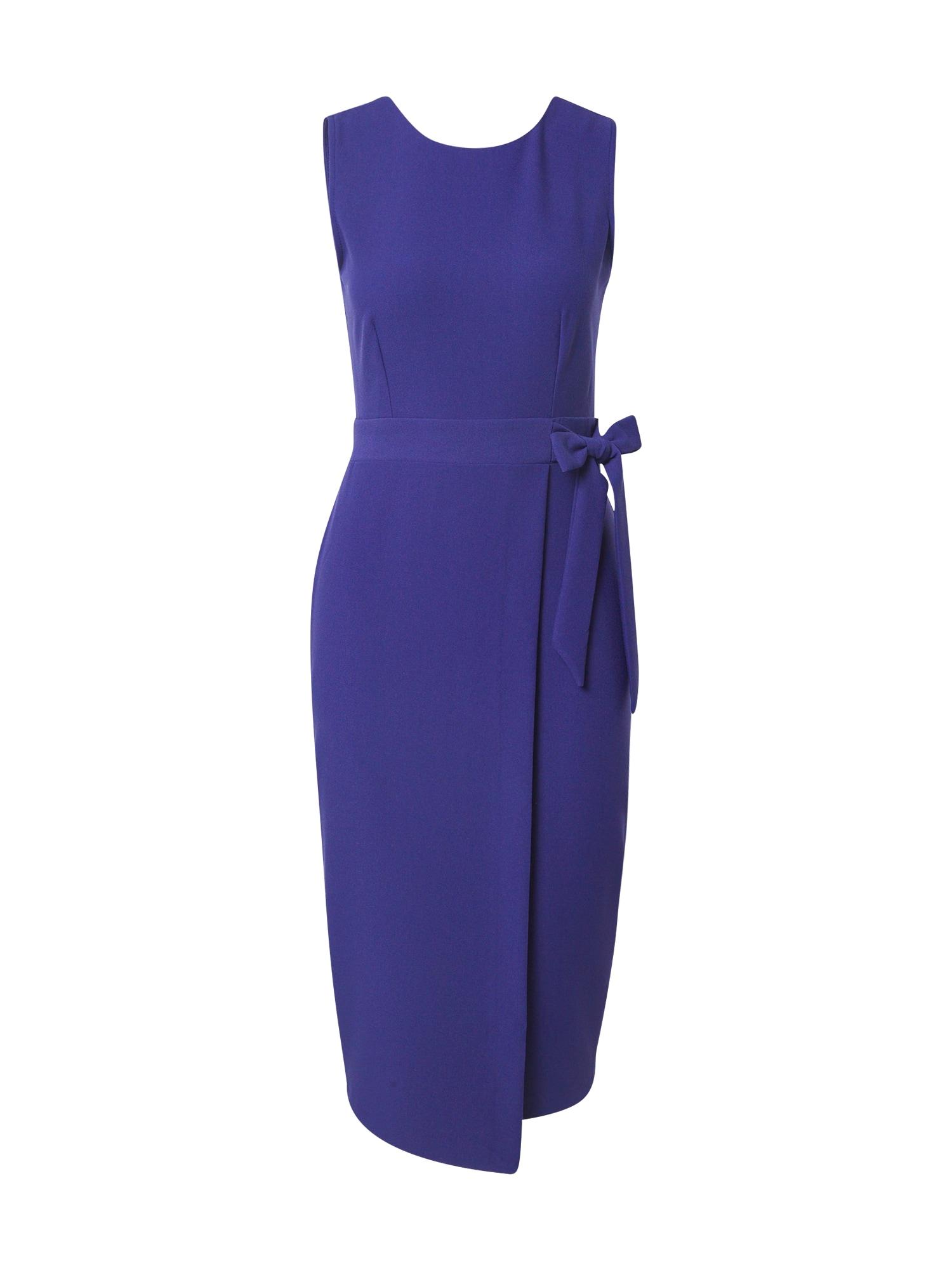 Closet London Trumpa kokteilinė suknelė indigo spalva