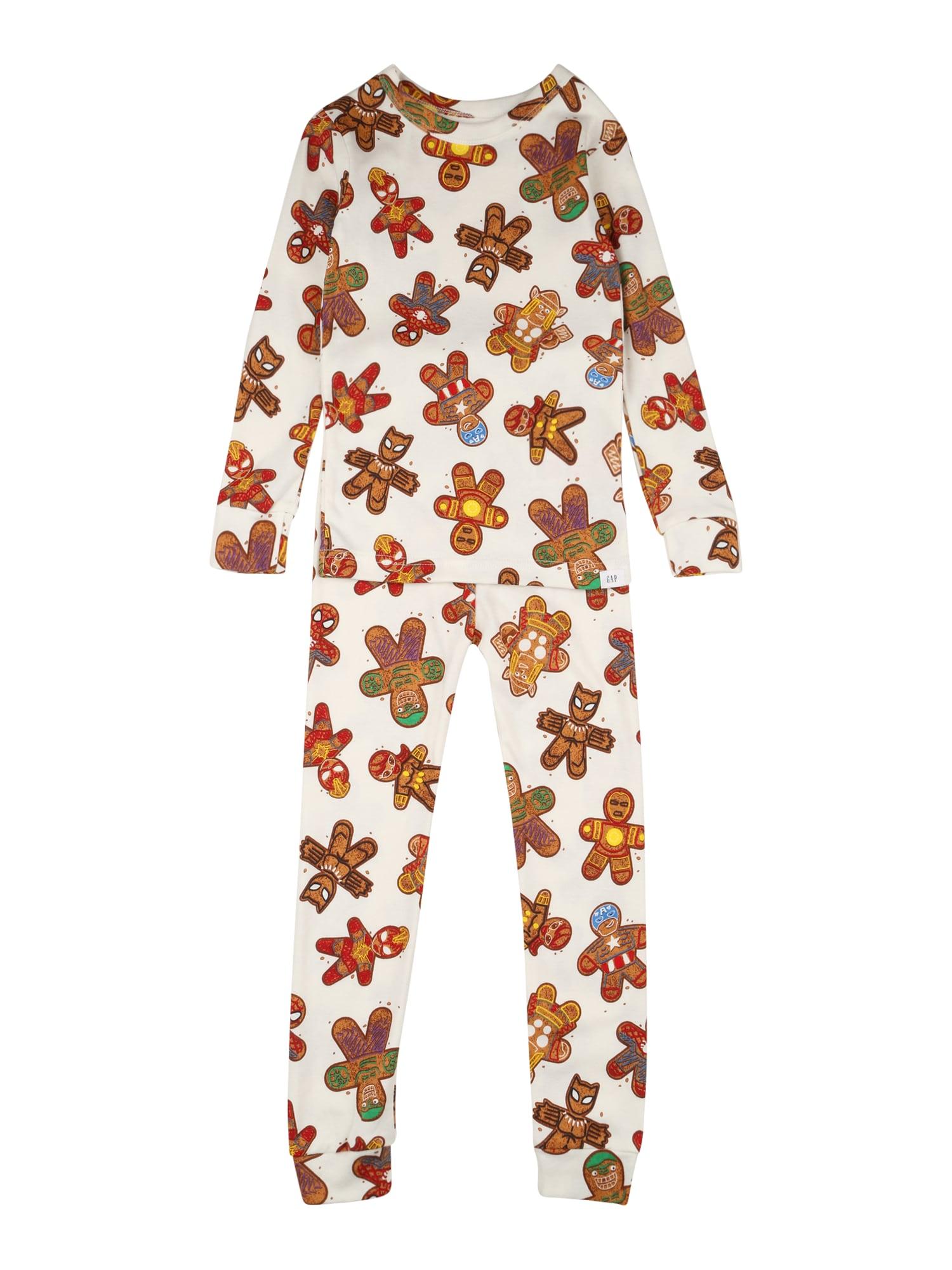 GAP Miego kostiumas balkšva / mišrios spalvos