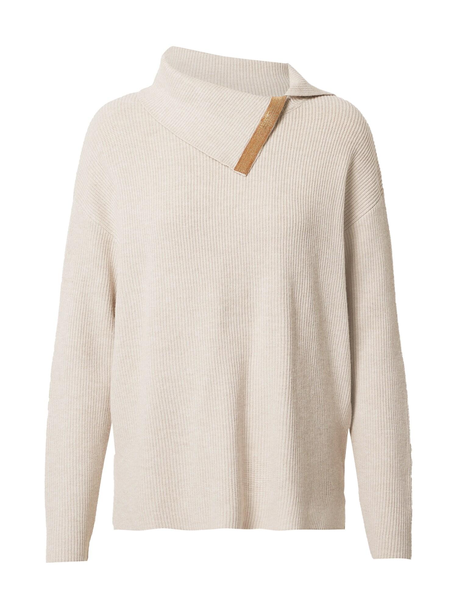 COMMA Megztinis marga smėlio spalva
