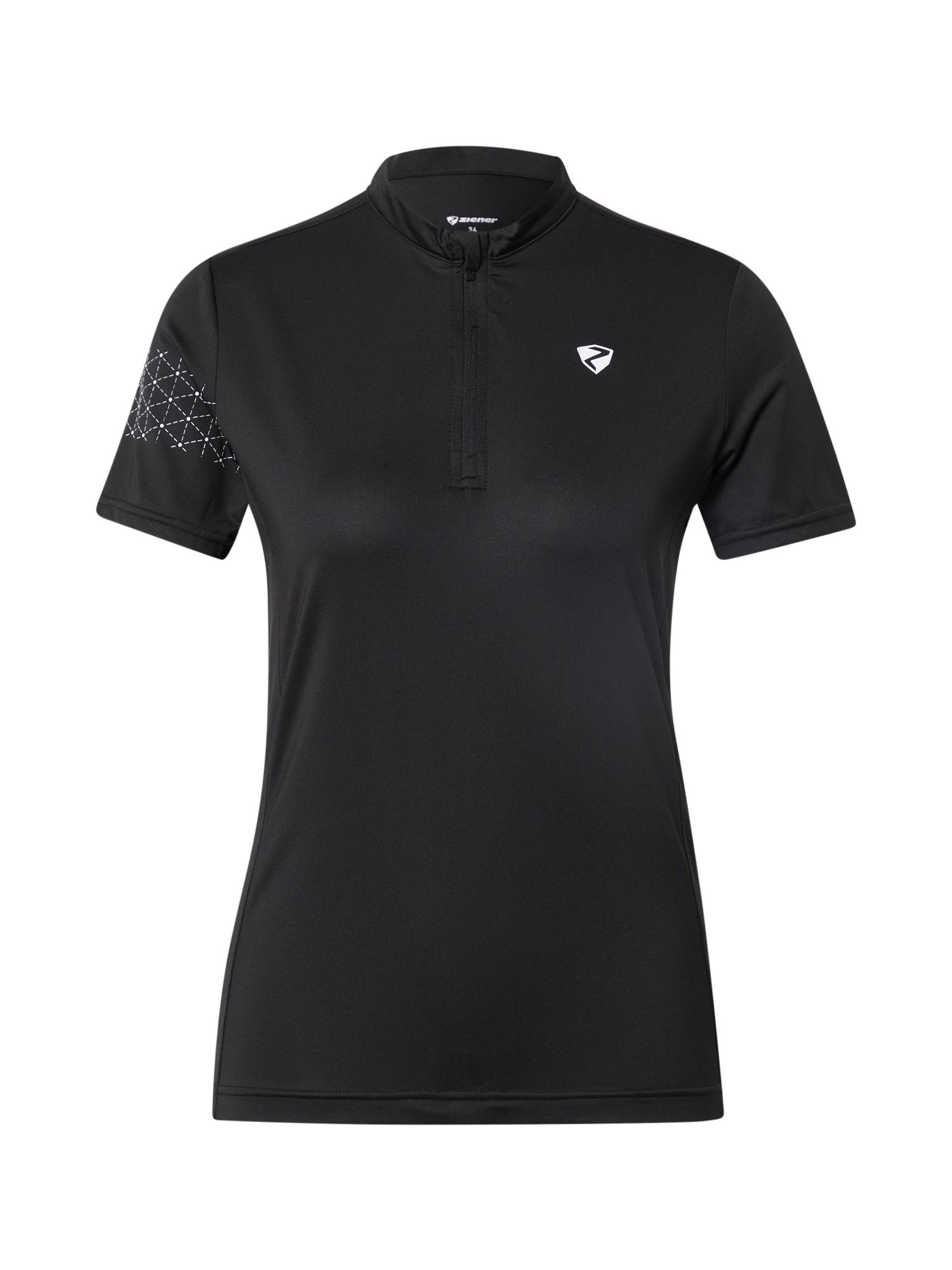 ZIENER Funkční tričko 'NAMINTA'  černá