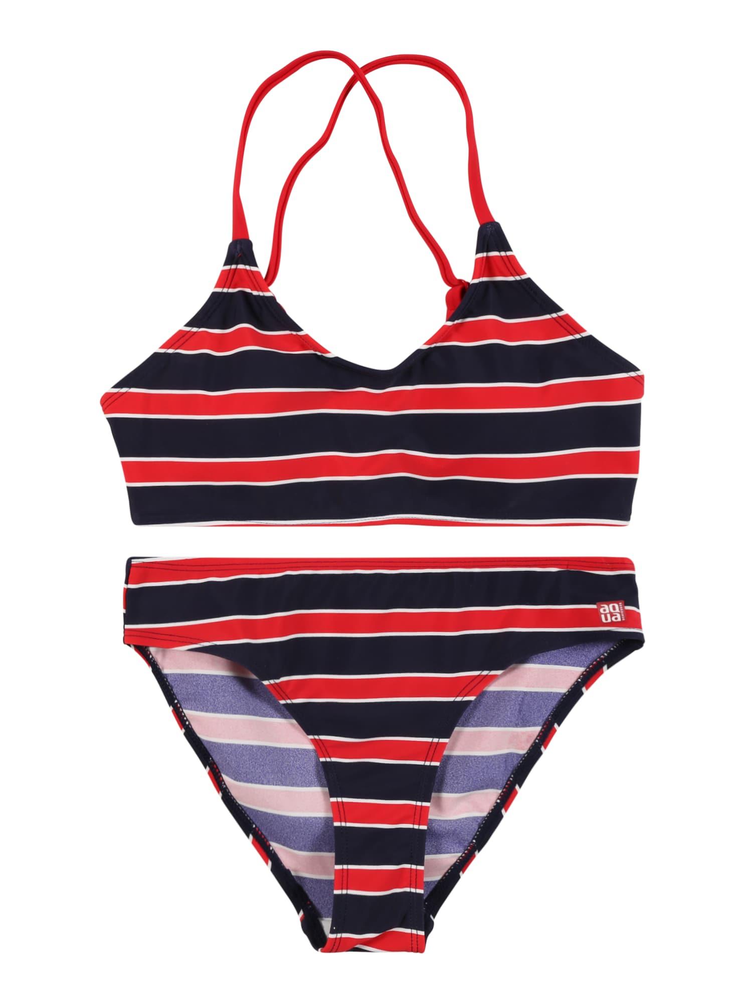 SCHIESSER Bikinis raudona / juoda / balta