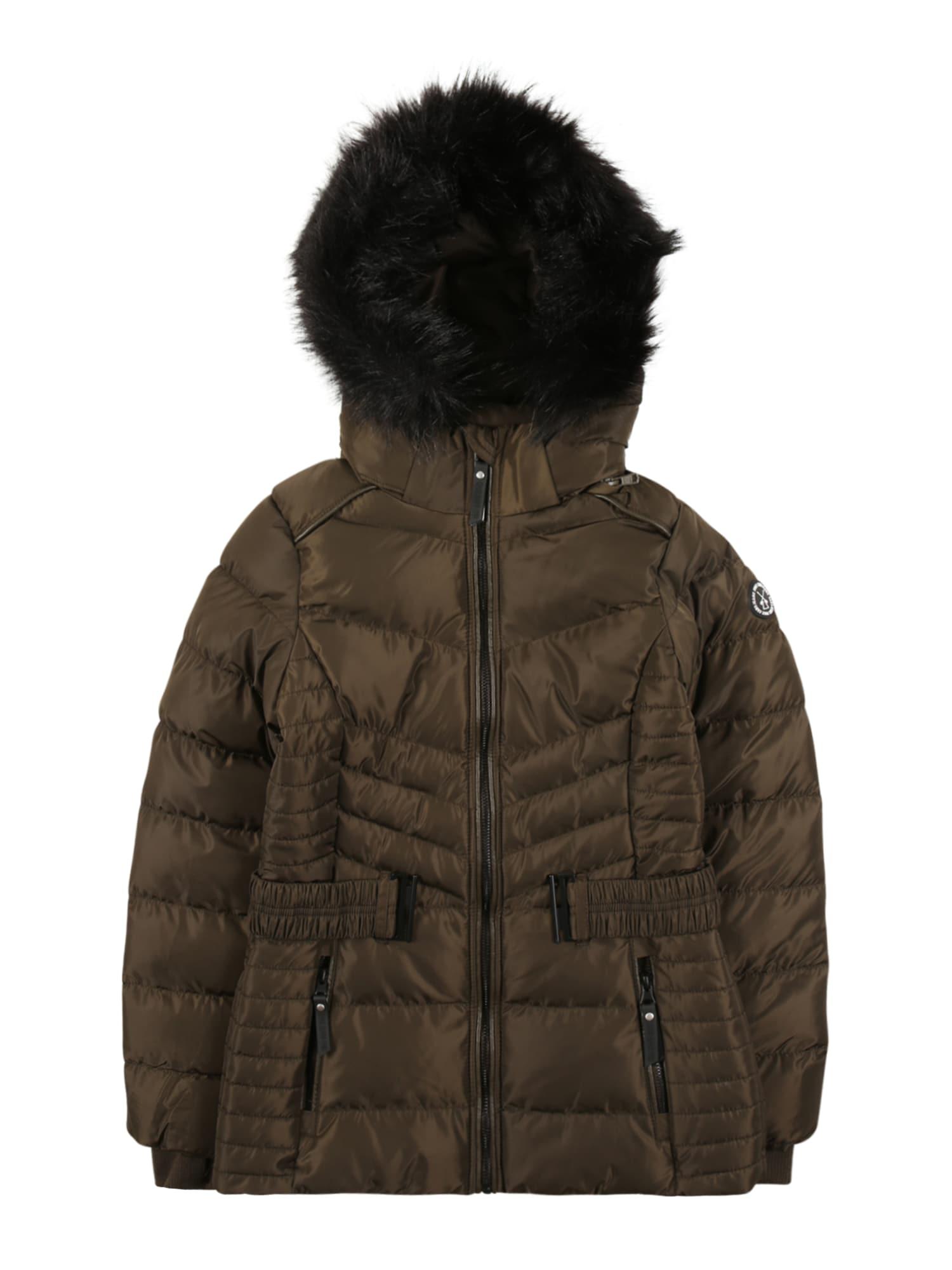Cars Jeans Žieminė striukė 'MIRARI' tamsiai ruda