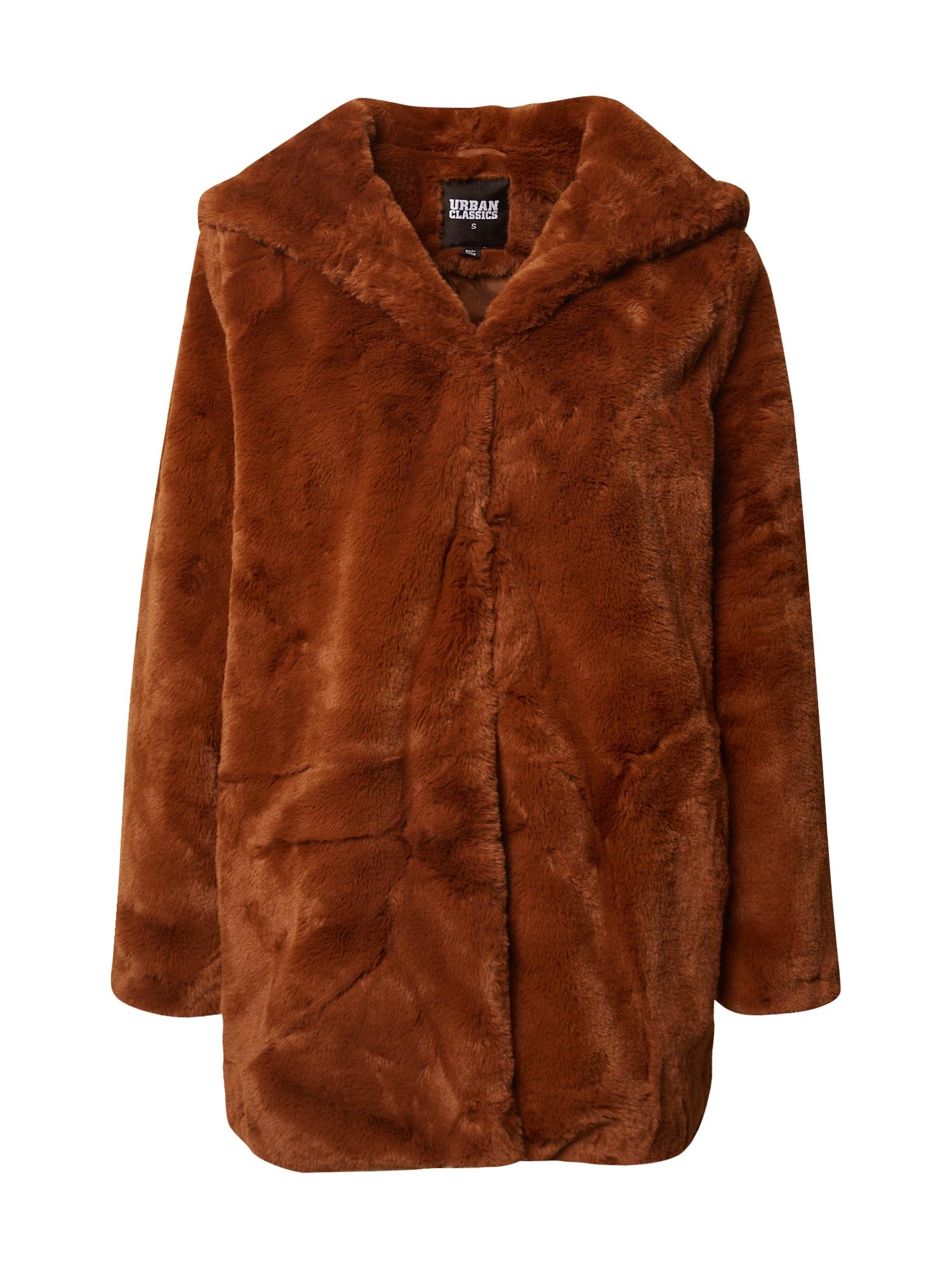 Urban Classics Přechodný kabát  karamelová