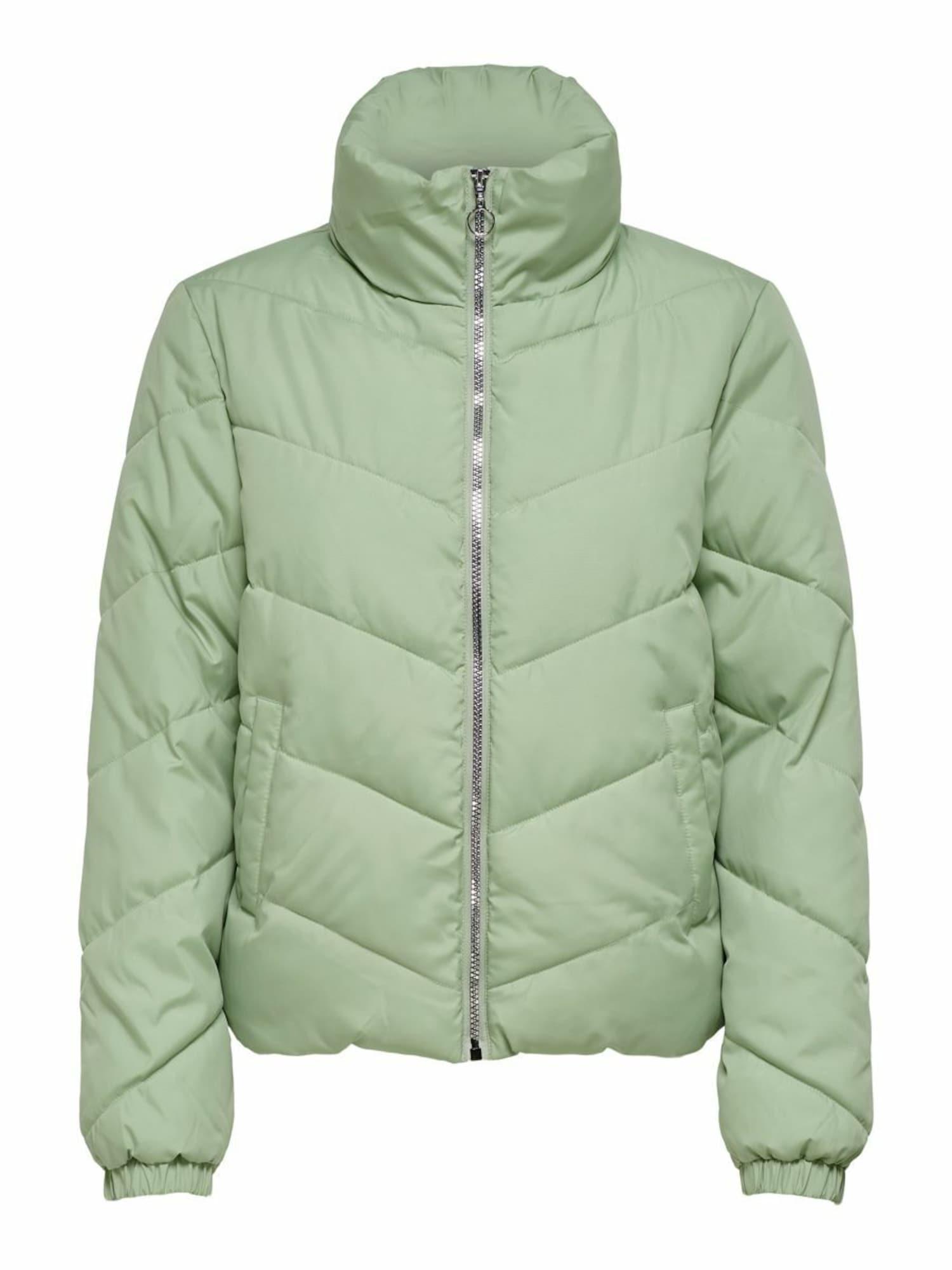 JACQUELINE de YONG Žieminė striukė šviesiai žalia