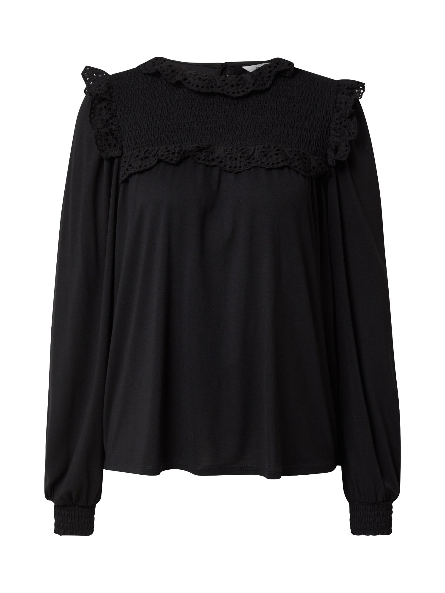 OBJECT Tričko 'MARIA'  černá